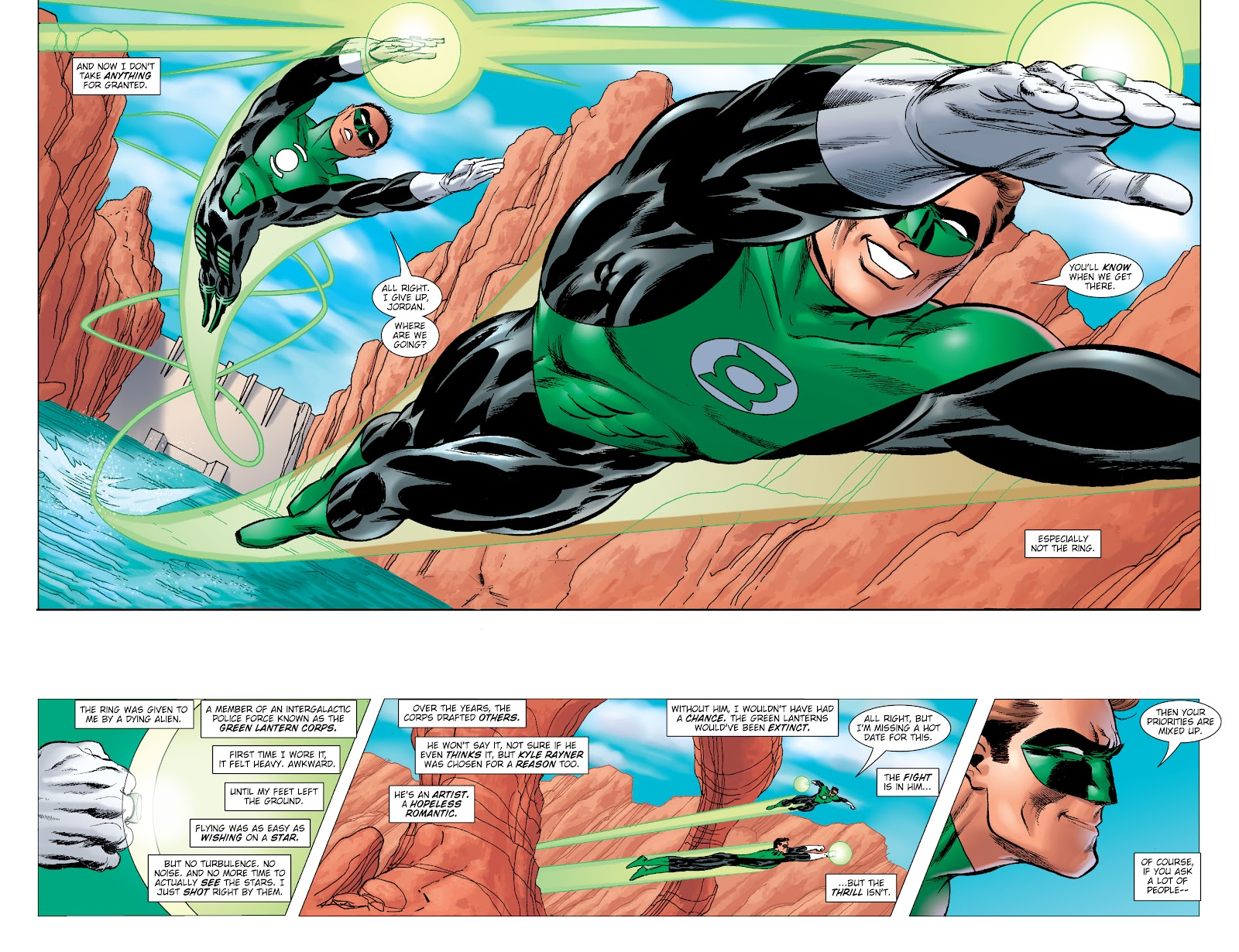 Read online Green Lantern by Geoff Johns comic -  Issue # TPB 1 (Part 2) - 57