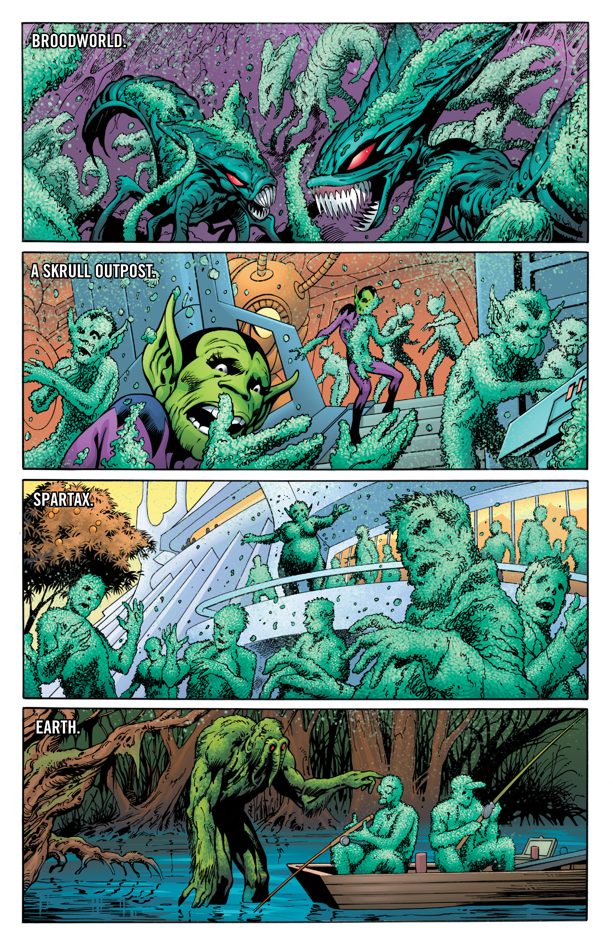 Read online Guardians of the Galaxy: Mother Entropy comic -  Issue #4 - 18