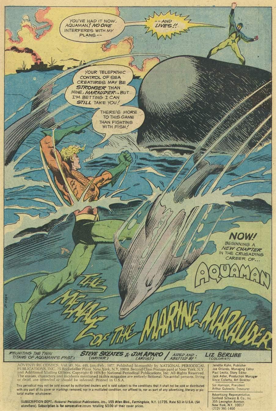 Read online Adventure Comics (1938) comic -  Issue #449 - 3