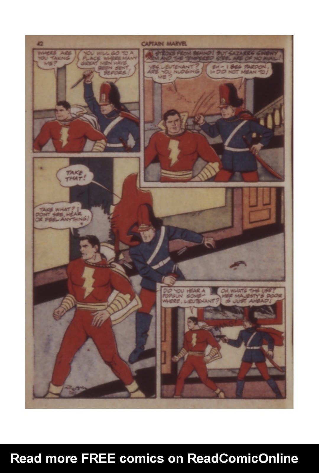 Captain Marvel Adventures issue 11 - Page 42