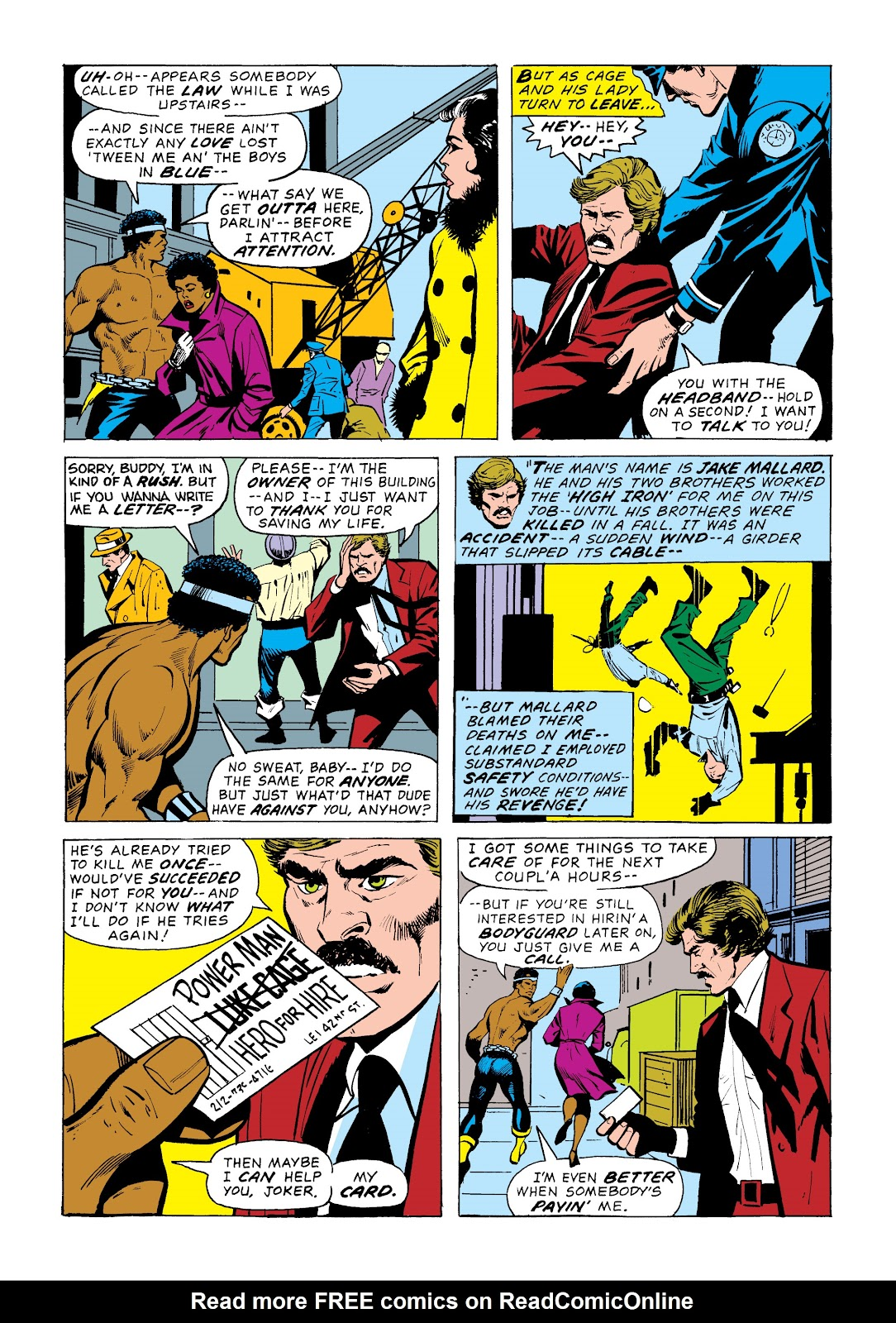 Read online Marvel Masterworks: Luke Cage, Power Man comic -  Issue # TPB 2 (Part 1) - 38