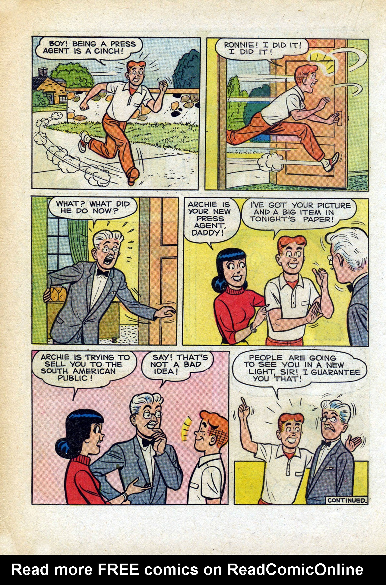 Read online Archie (1960) comic -  Issue #140 - 18