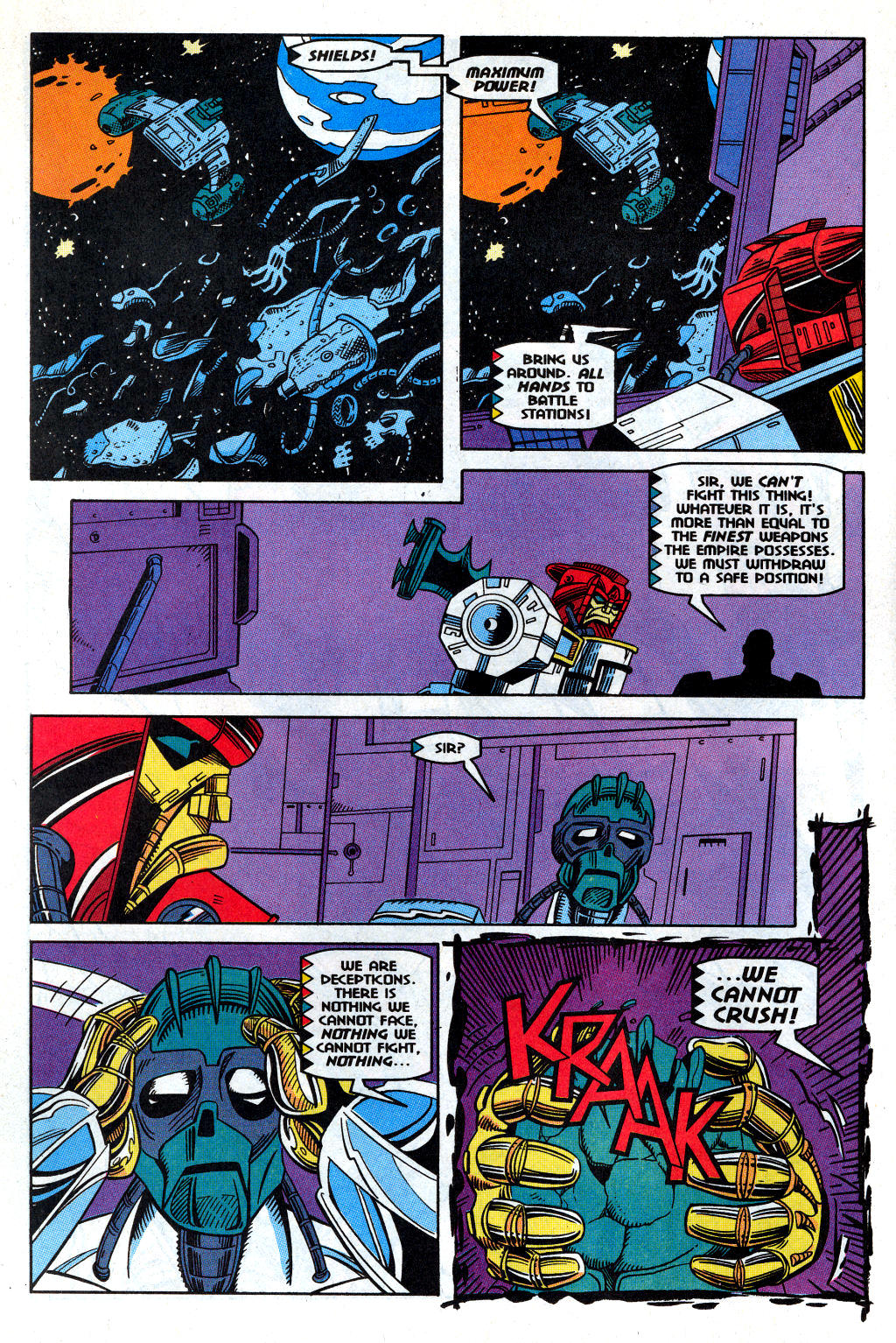 Read online Transformers: Generation 2 comic -  Issue #12 - 10