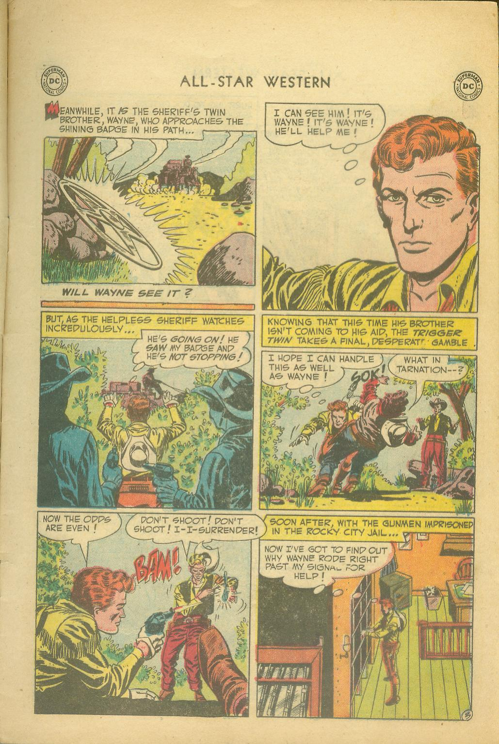 Read online All-Star Western (1951) comic -  Issue #65 - 5