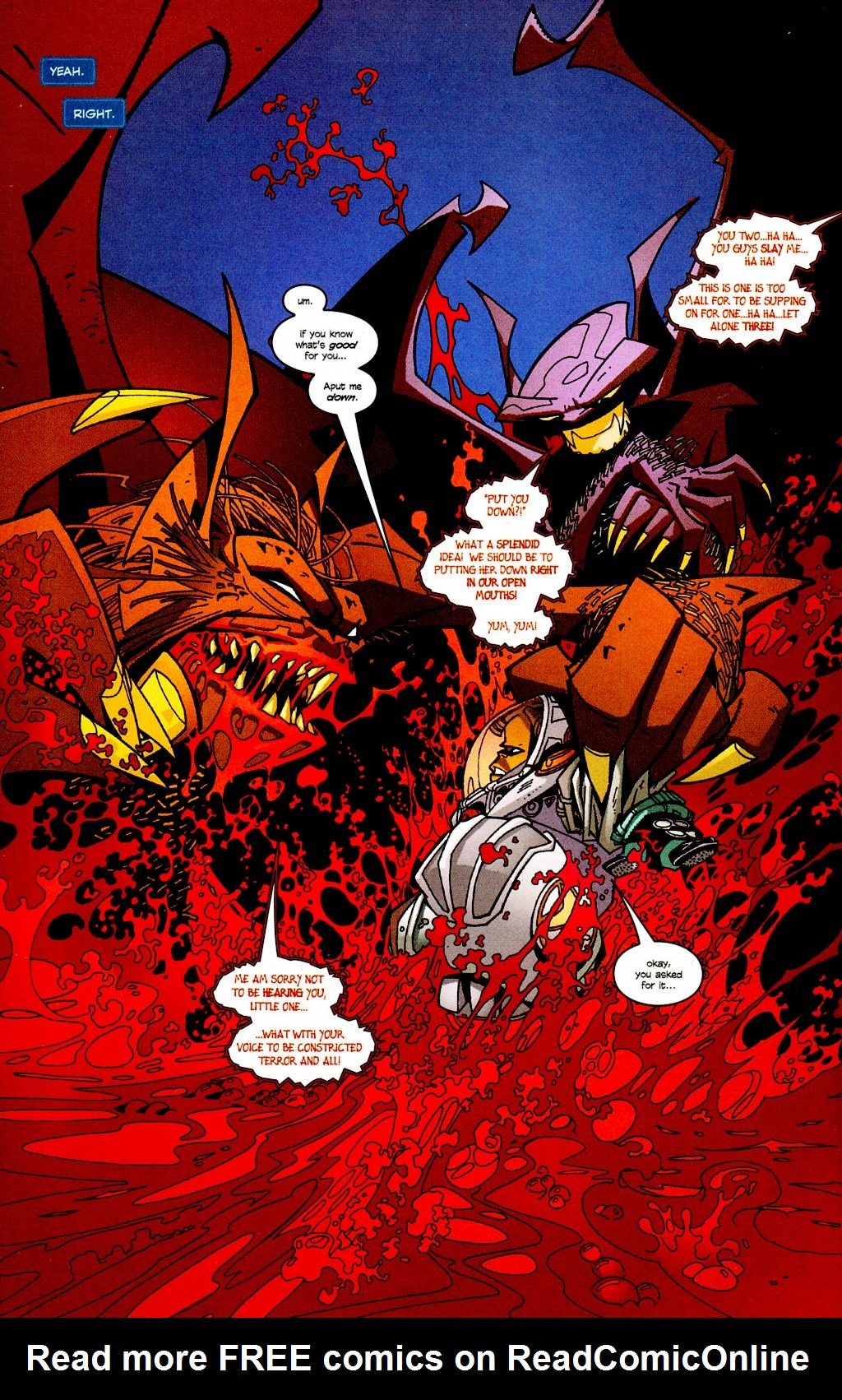 Read online Monster World (Existed) comic -  Issue #2 - 7