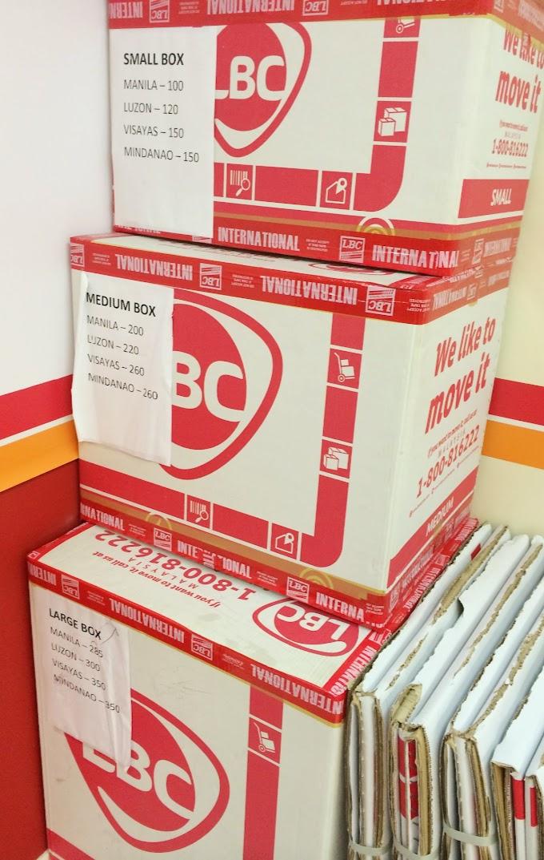 Lbc box padala price