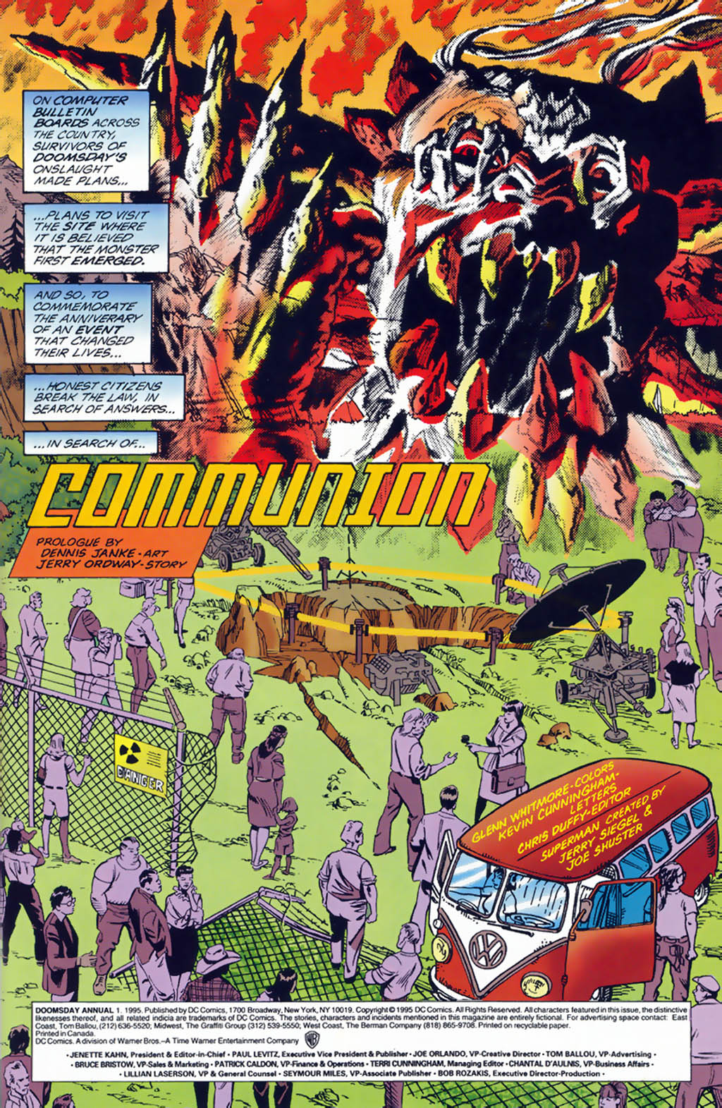 Read online Doomsday Annual comic -  Issue # Full - 2