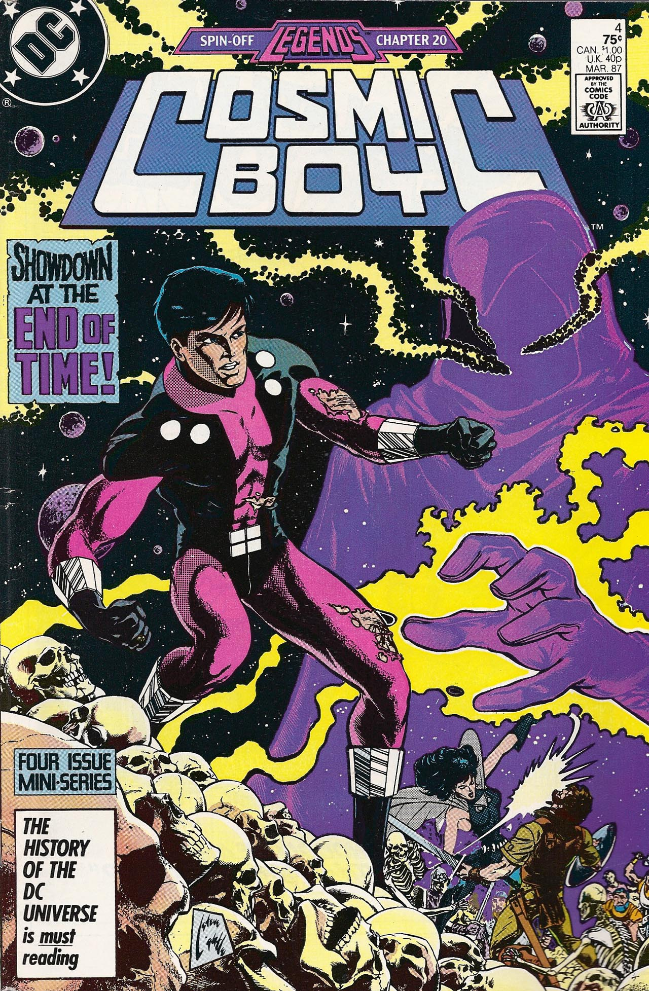 Cosmic Boy 4 Page 1