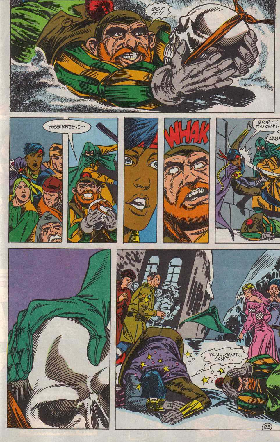 Read online Advanced Dungeons & Dragons comic -  Issue #7 - 24