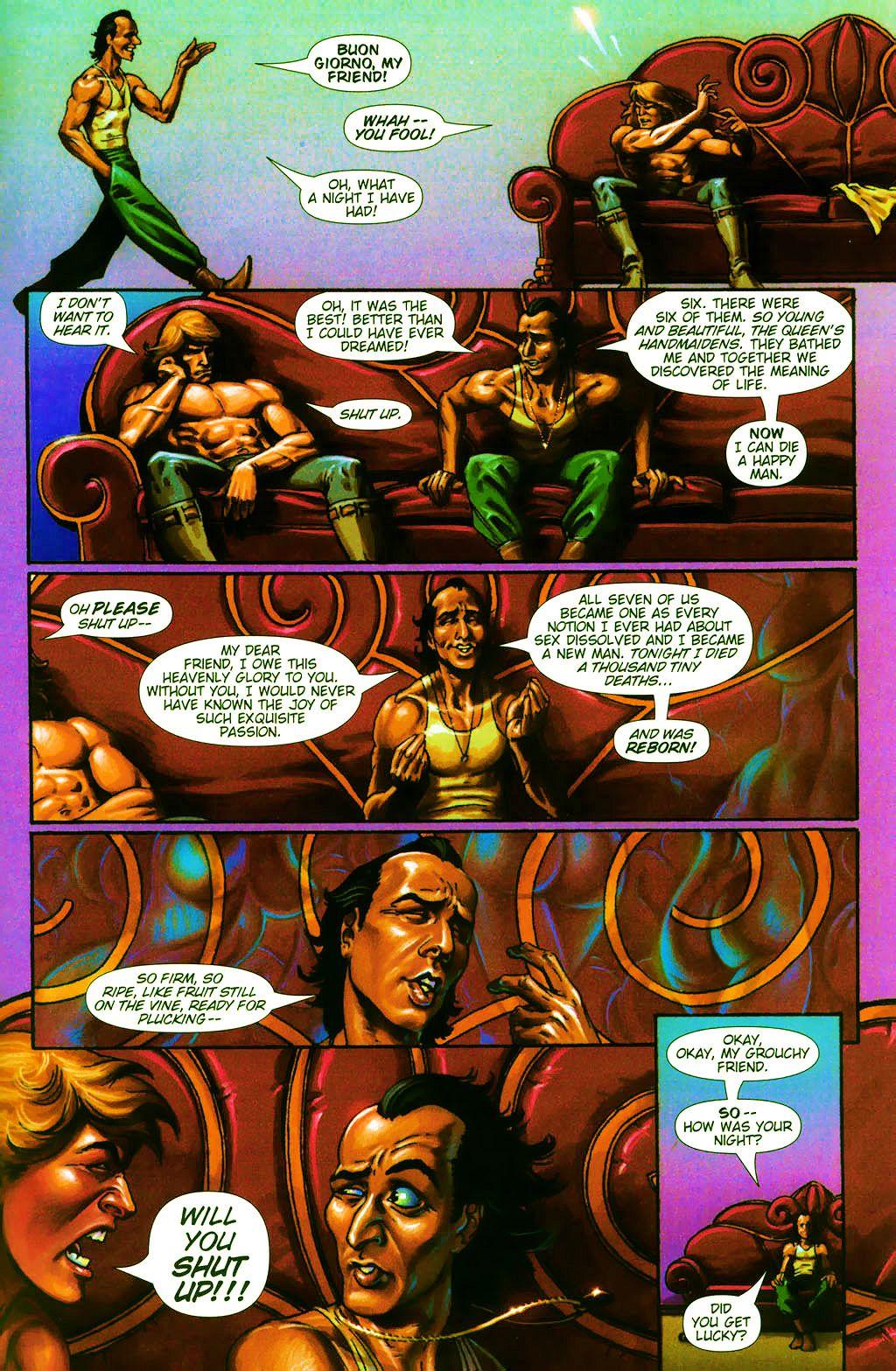 Read online Dawn: Three Tiers comic -  Issue #4 - 7