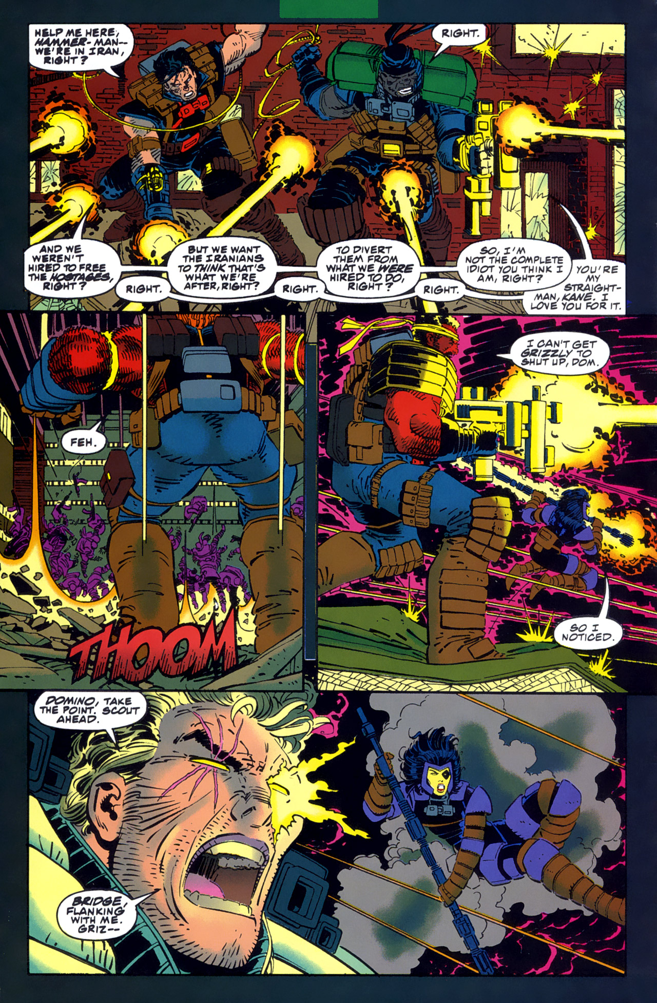 Read online Cable - Blood and Metal comic -  Issue #1 - 7