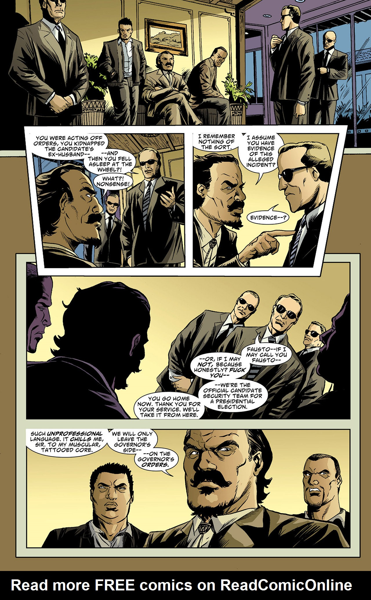Read online Saucer Country comic -  Issue #4 - 7