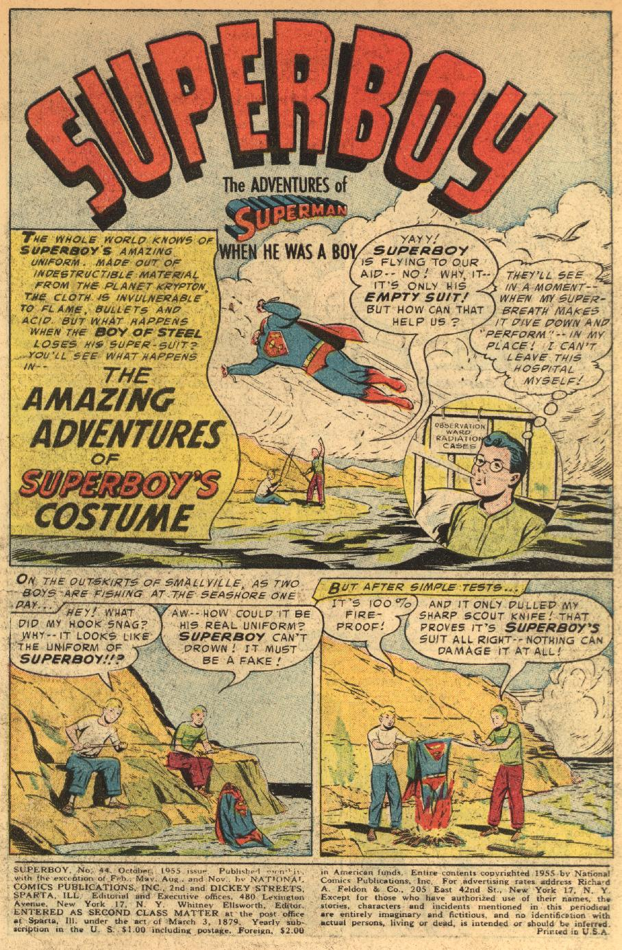 Superboy (1949) issue 44 - Page 2