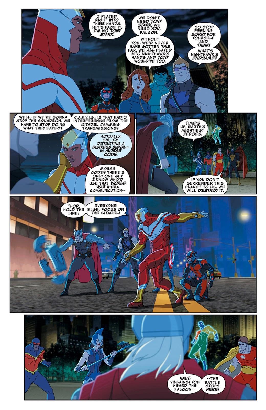 Read online Marvel Universe Avengers Assemble Season 2 comic -  Issue #13 - 23