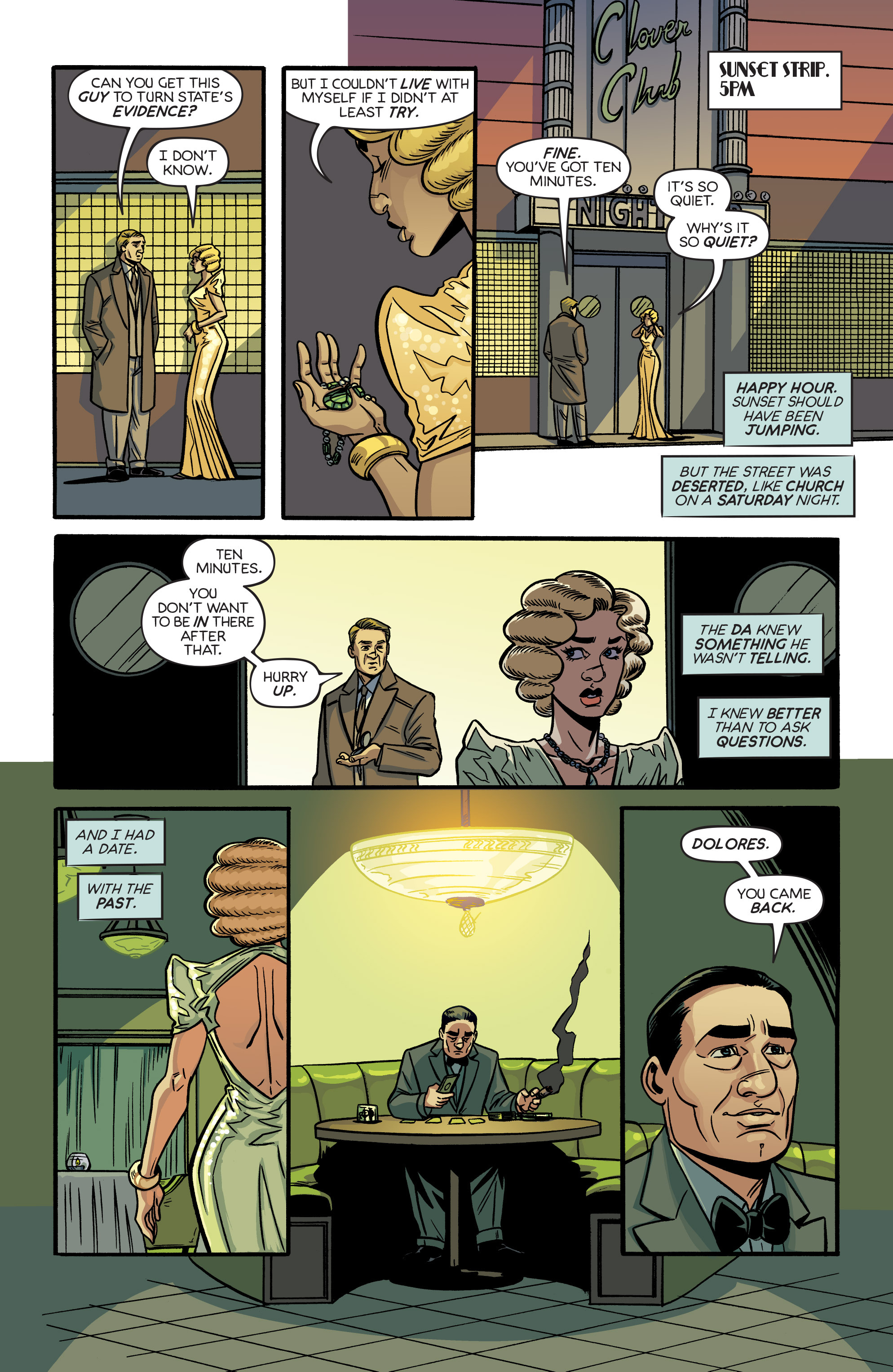 Read online Angel City comic -  Issue #6 - 19
