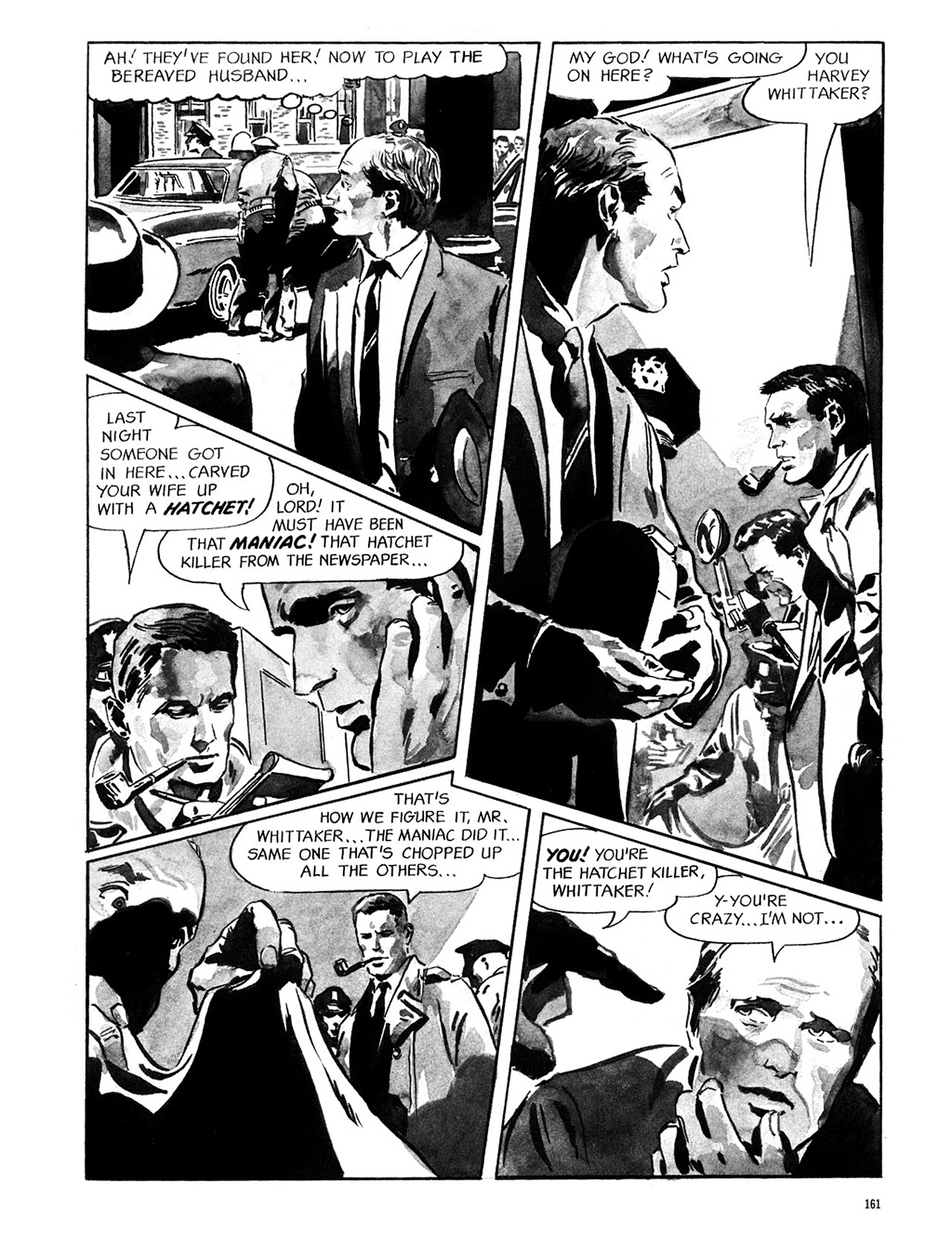 Read online Eerie Archives comic -  Issue # TPB 1 - 162