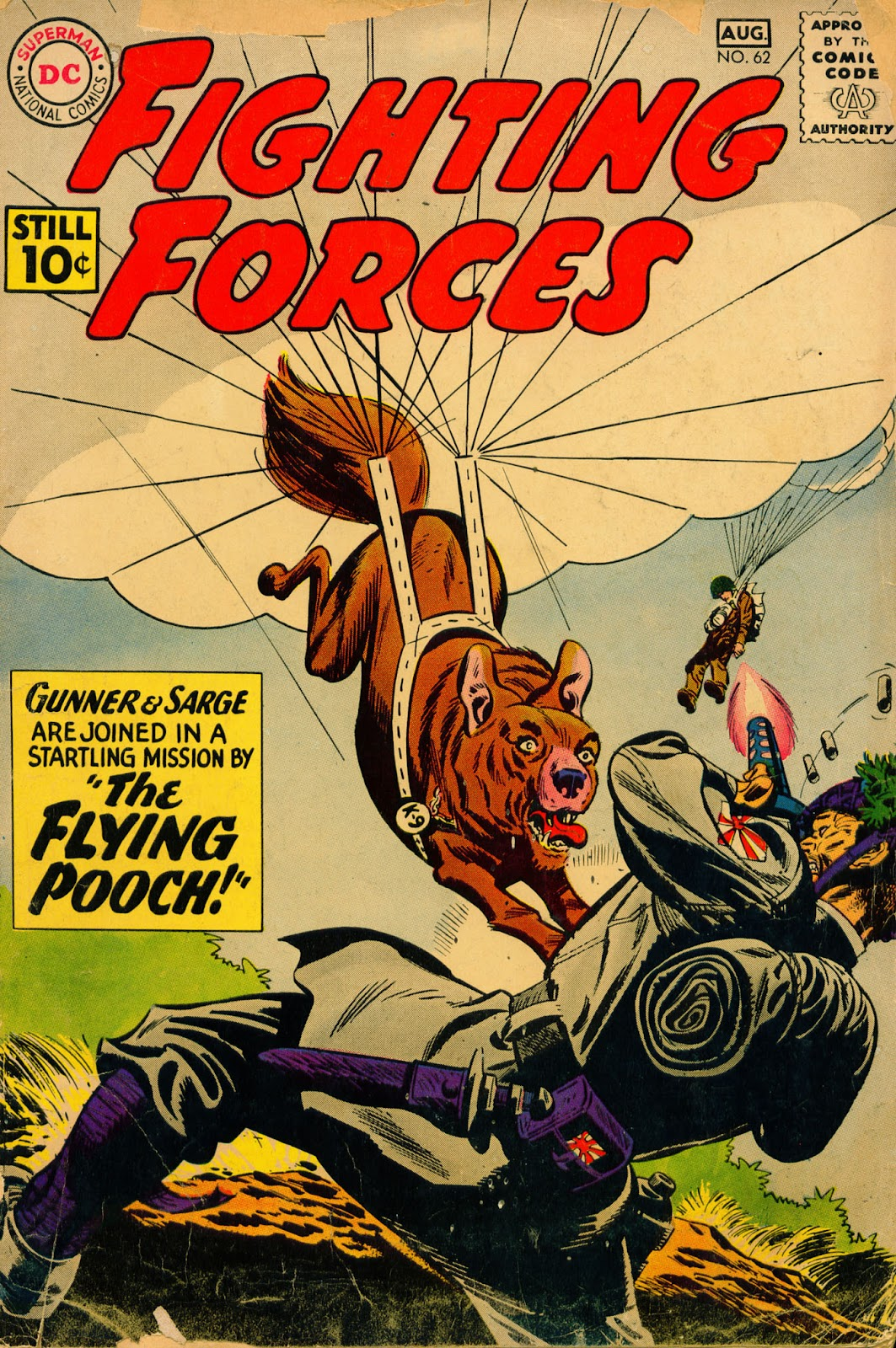 Our Fighting Forces (1954) issue 62 - Page 1