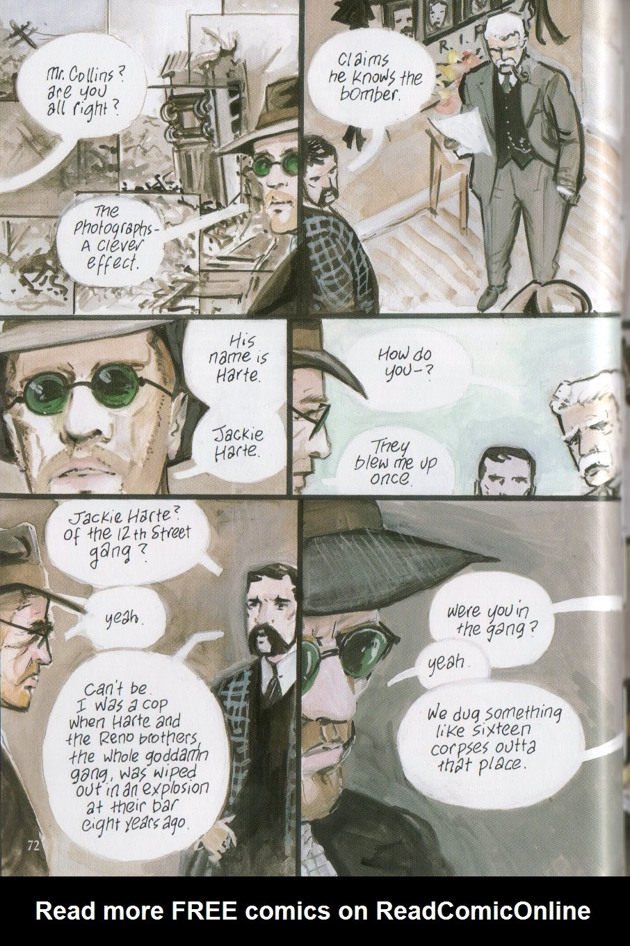 Read online The Black Diamond Detective Agency comic -  Issue # TPB - 72