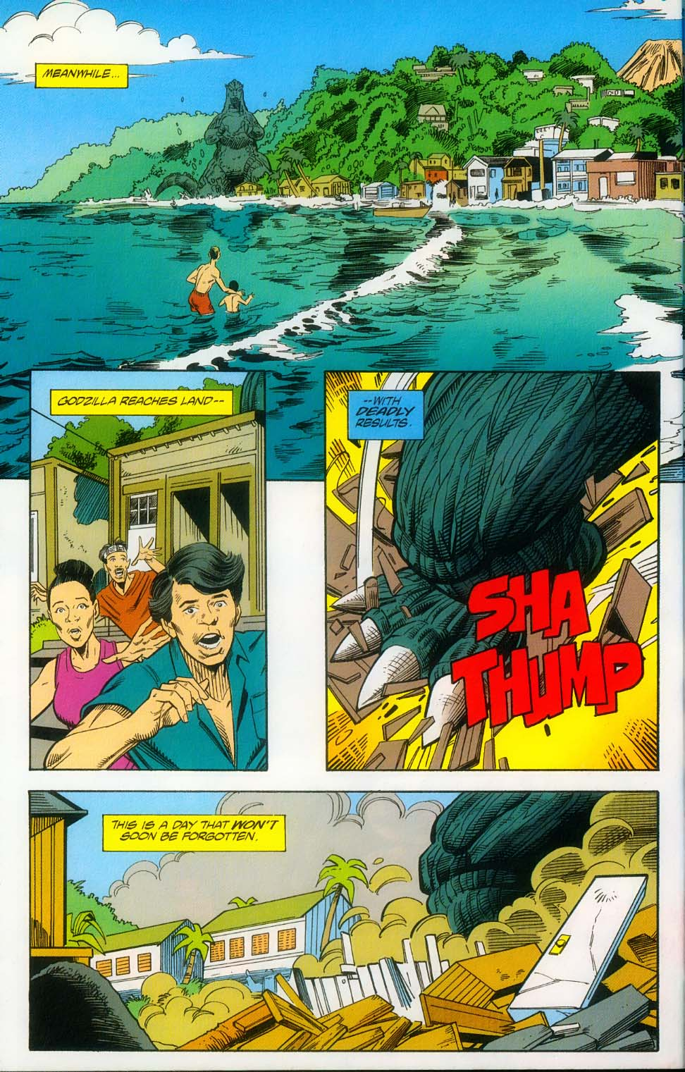 Godzilla (1995) Issue #14 #15 - English 7