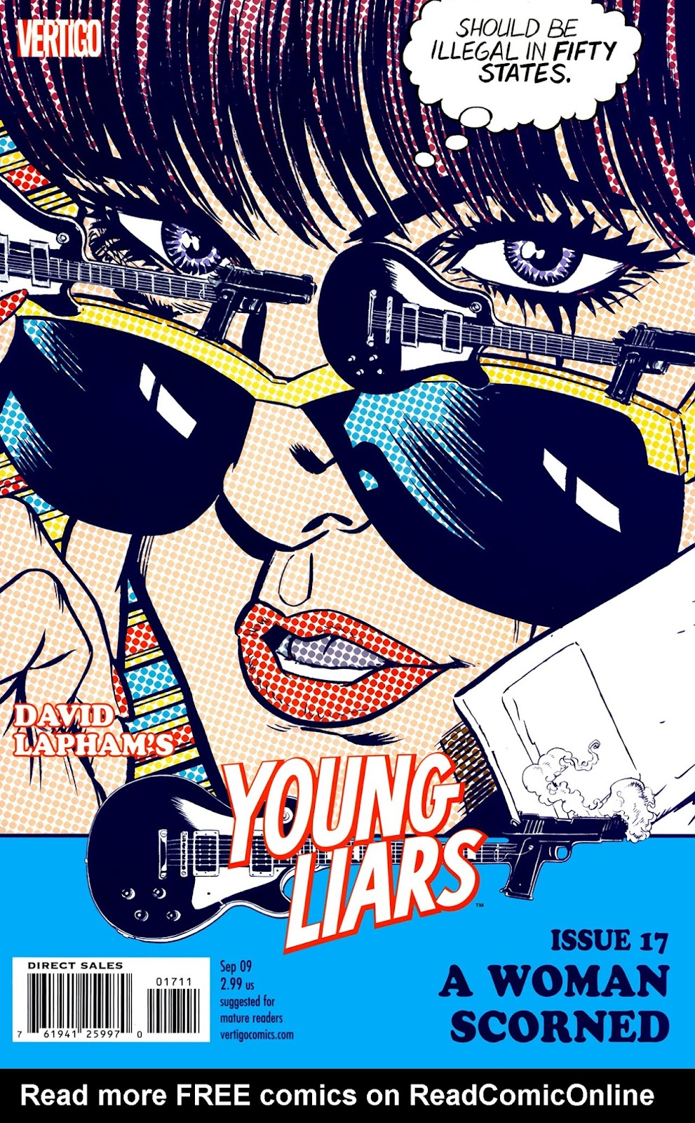Young Liars issue 17 - Page 1