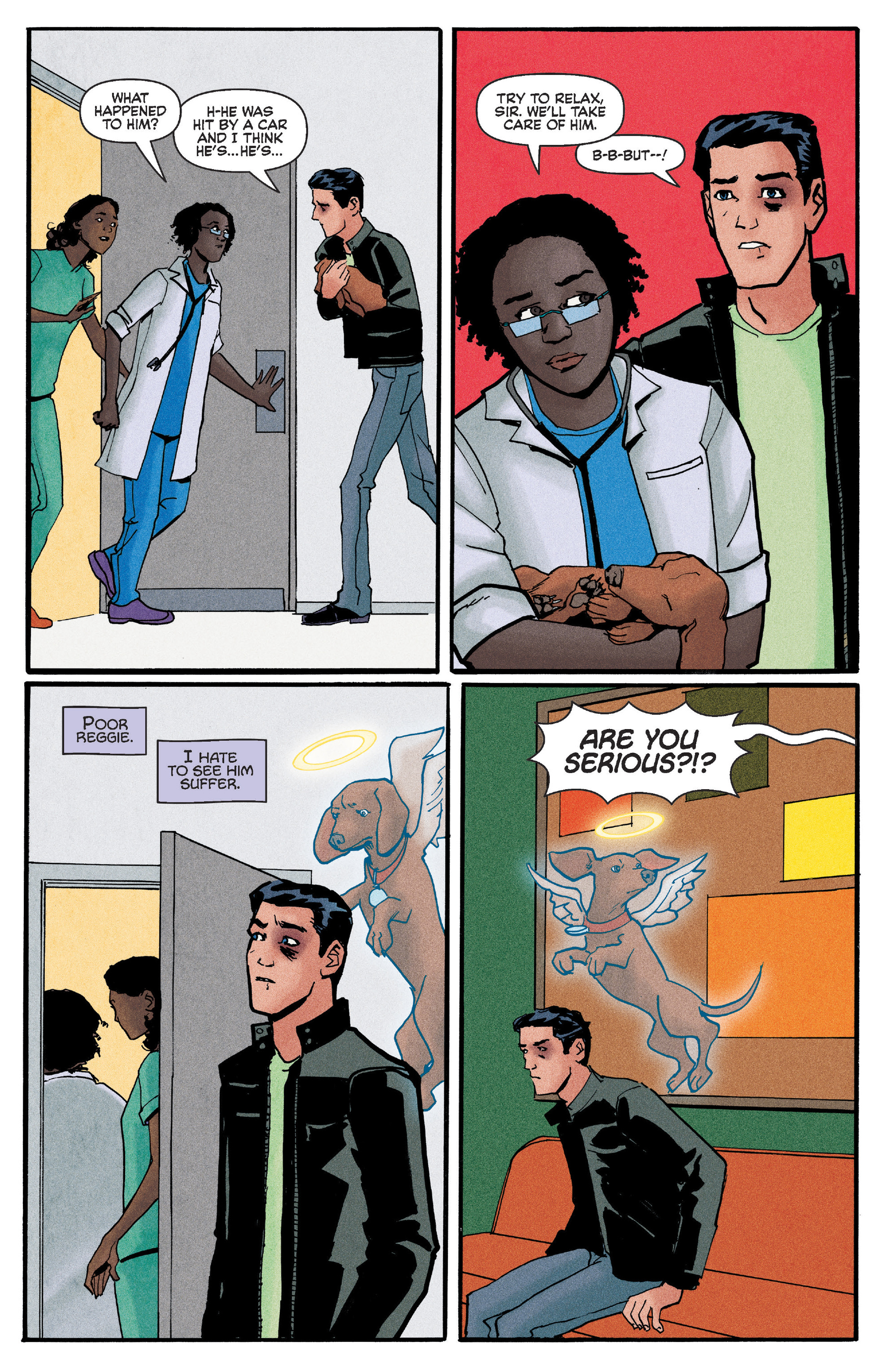 Read online Reggie and Me comic -  Issue #5 - 4