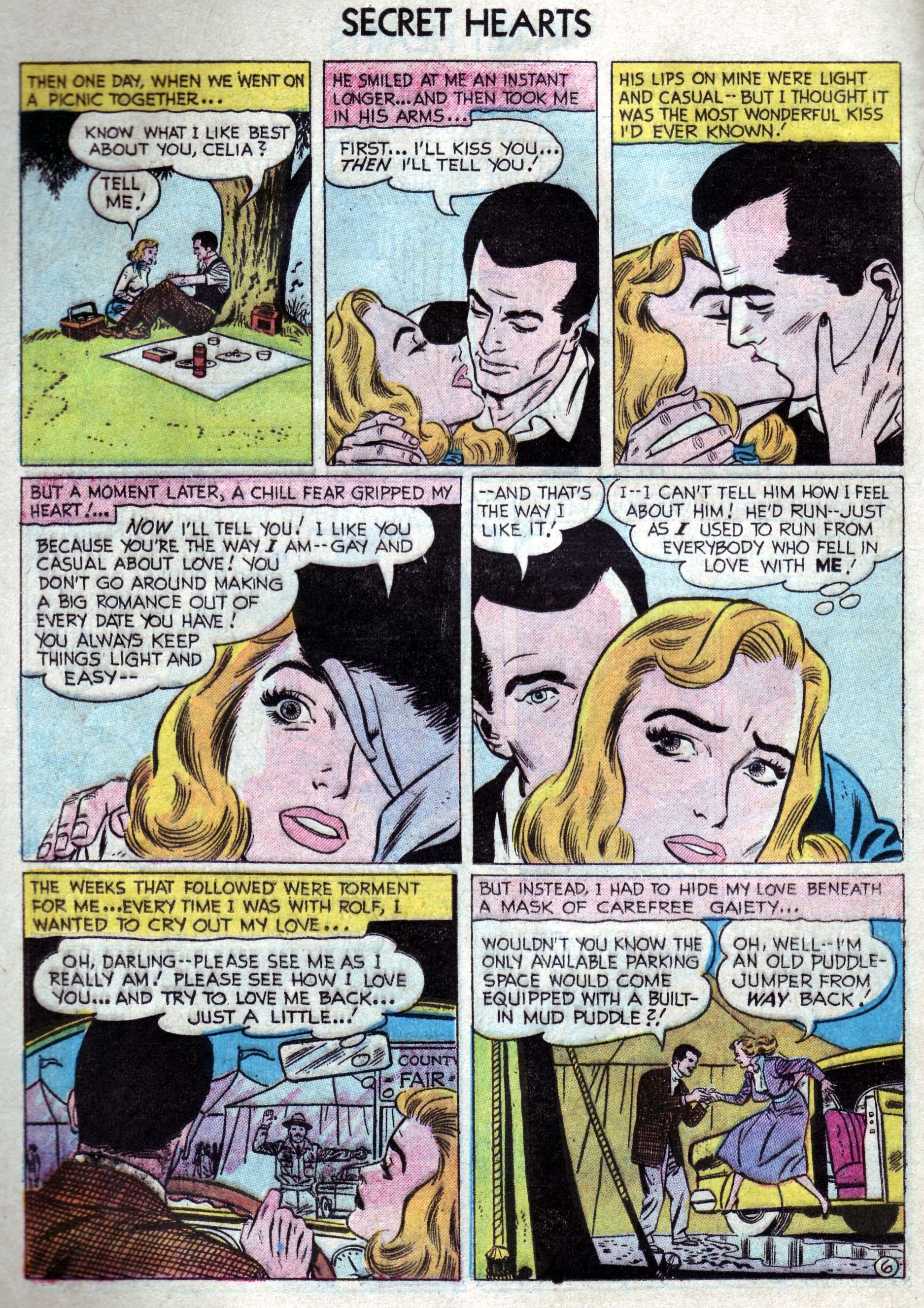 Read online Secret Hearts comic -  Issue #33 - 24