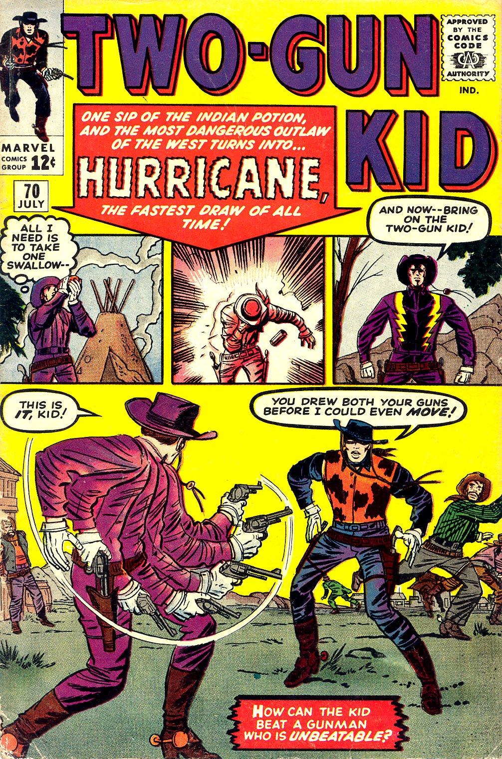 Read online Two-Gun Kid comic -  Issue #70 - 1