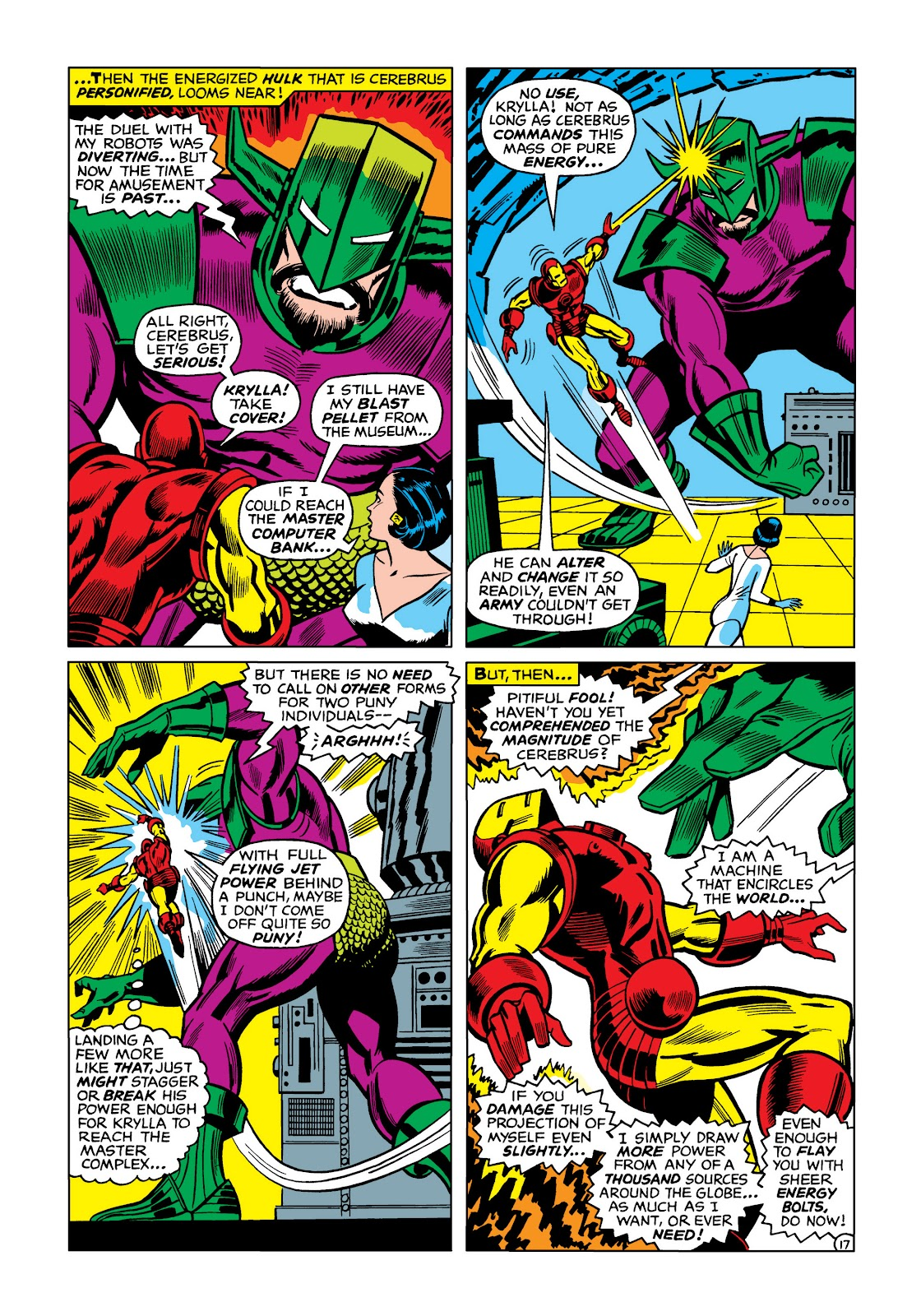 Read online Marvel Masterworks: The Invincible Iron Man comic -  Issue # TPB 5 (Part 1) - 87