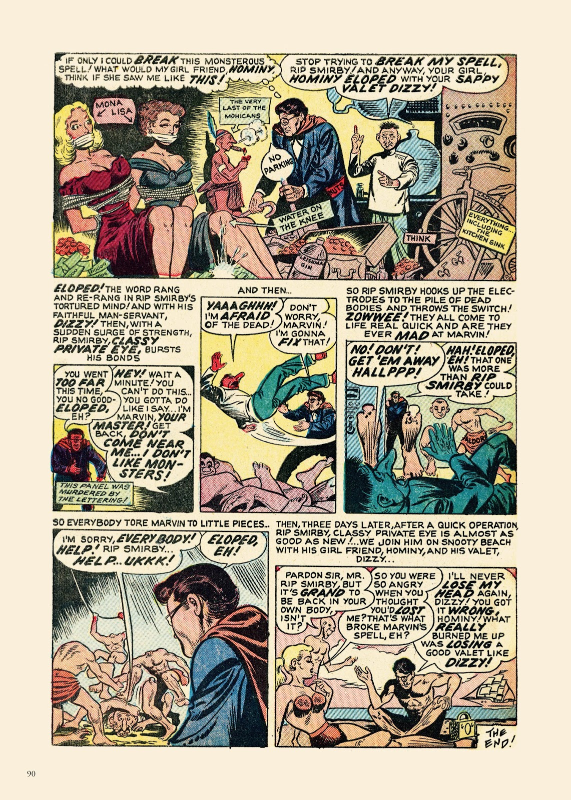 Read online Sincerest Form of Parody: The Best 1950s MAD-Inspired Satirical Comics comic -  Issue # TPB (Part 1) - 91