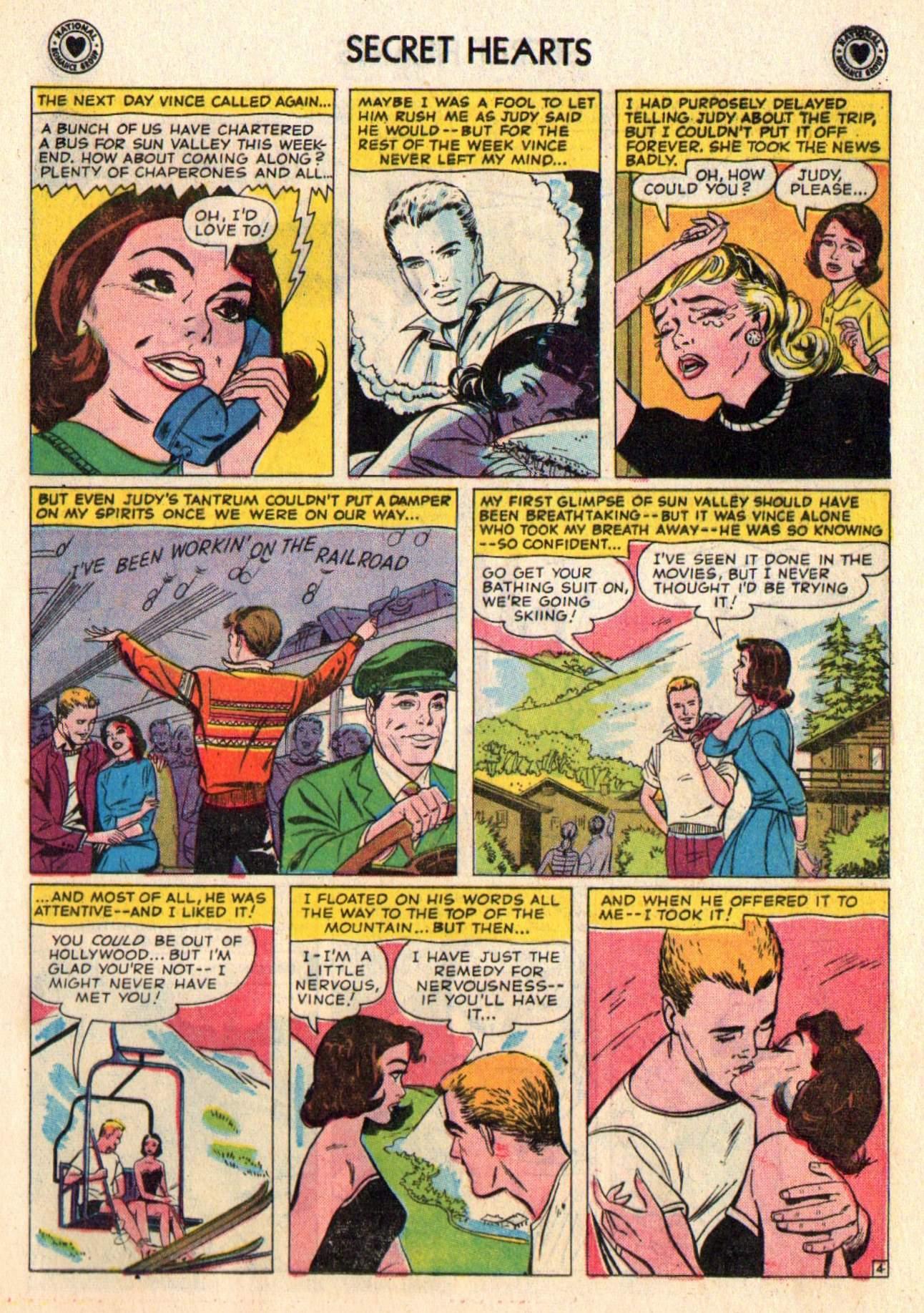 Read online Secret Hearts comic -  Issue #48 - 21