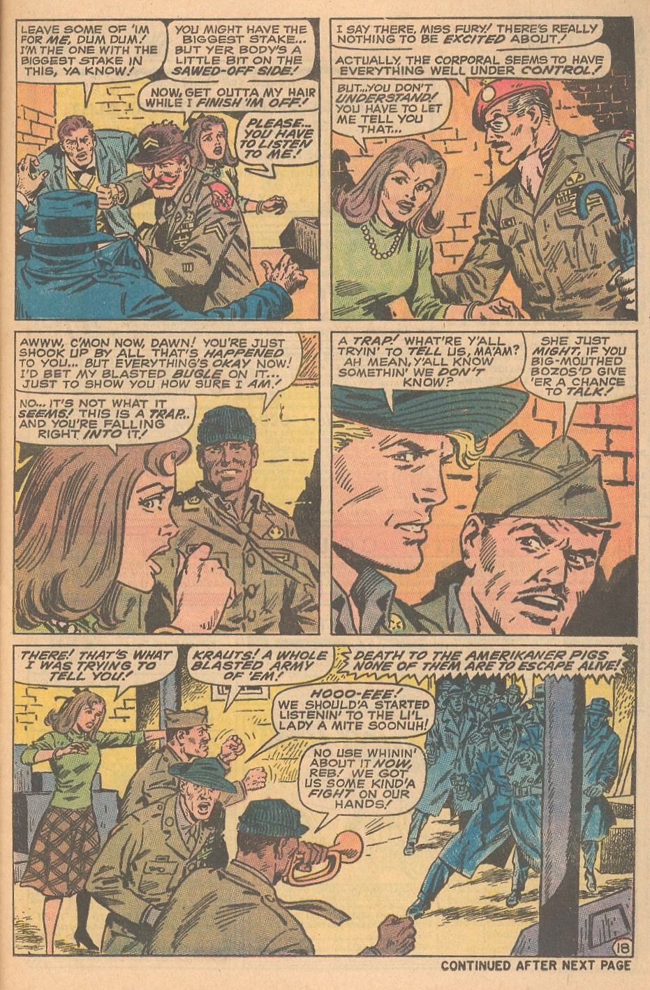 Read online Sgt. Fury comic -  Issue #69 - 25