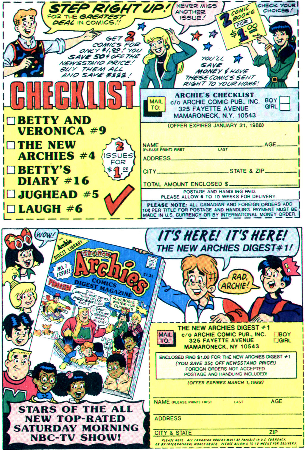 Read online Archie (1960) comic -  Issue #355 - 10