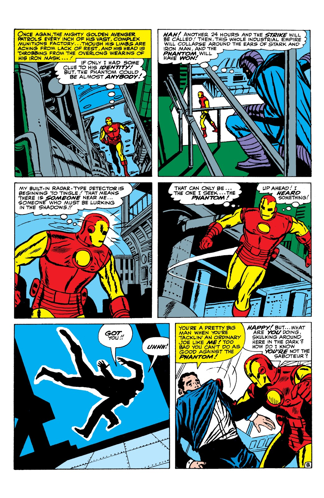Read online Marvel Masterworks: The Invincible Iron Man comic -  Issue # TPB 2 (Part 3) - 8