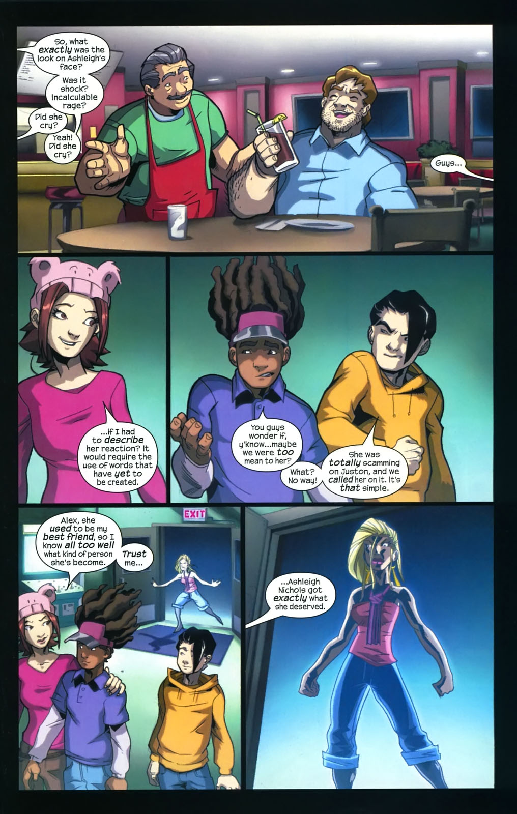 Read online Sentinel (2006) comic -  Issue #4 - 16