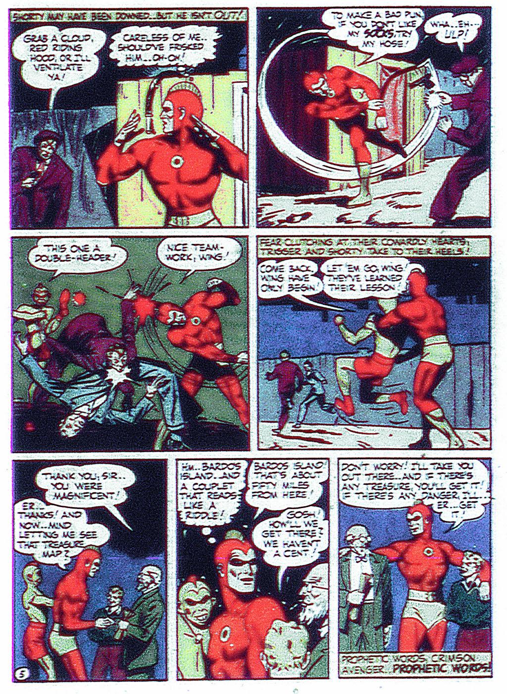 Read online Detective Comics (1937) comic -  Issue #68 - 35