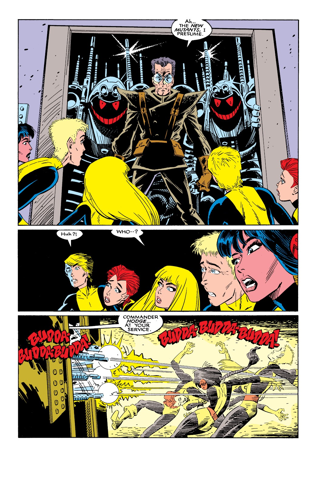 Read online X-Men Milestones: Fall of the Mutants comic -  Issue # TPB (Part 2) - 39