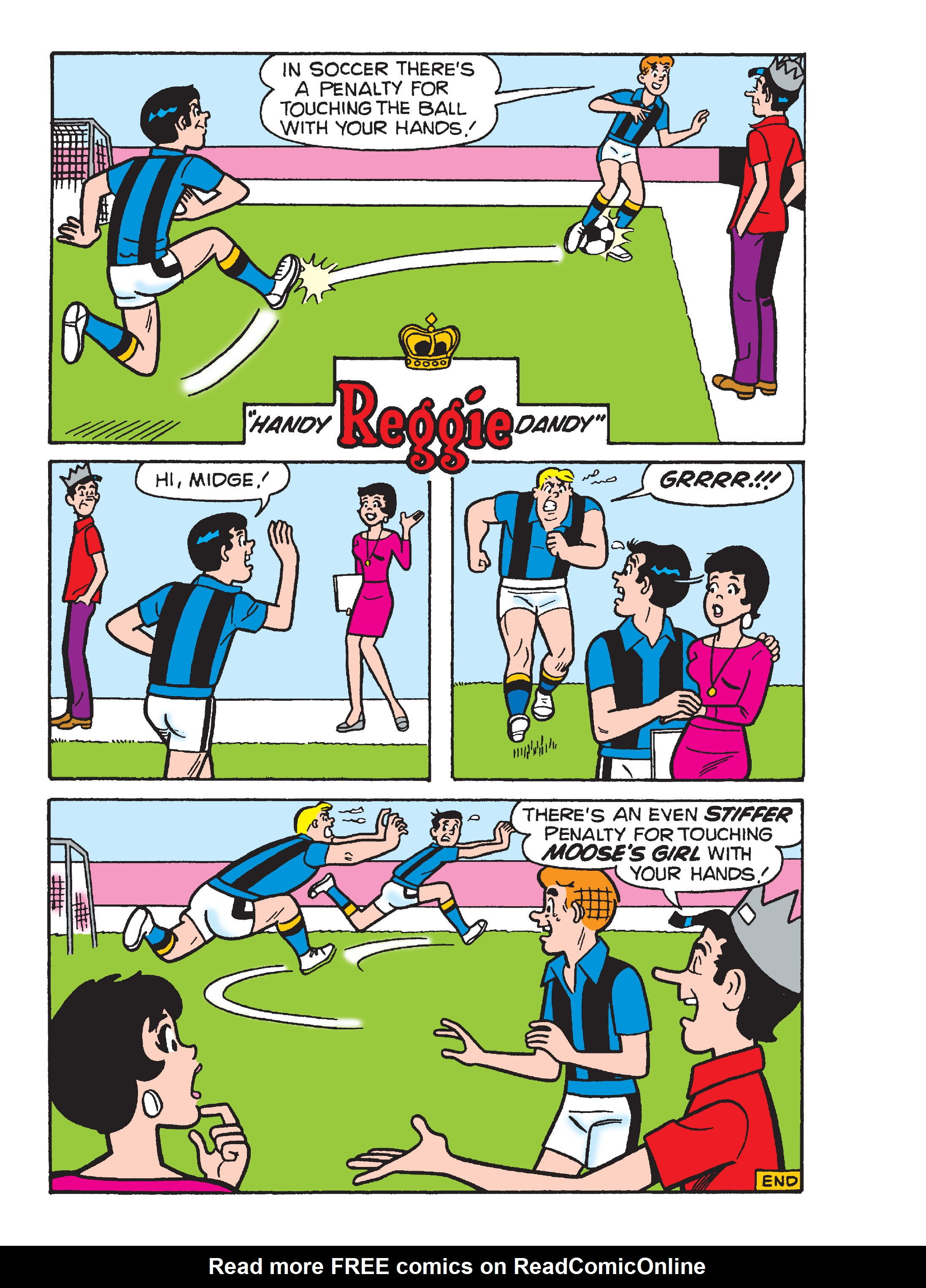 Read online Archie's Funhouse Double Digest comic -  Issue #17 - 125