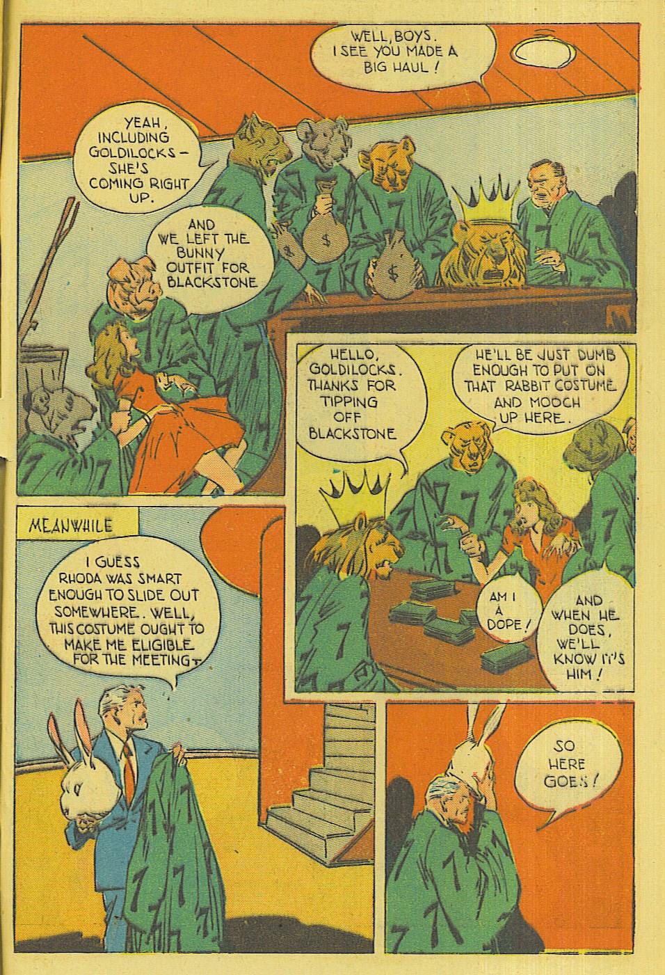 Read online Super-Magician Comics comic -  Issue #42 - 46
