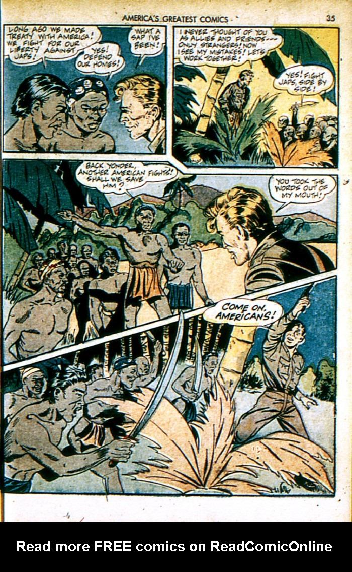 Read online America's Greatest Comics comic -  Issue #4 - 35