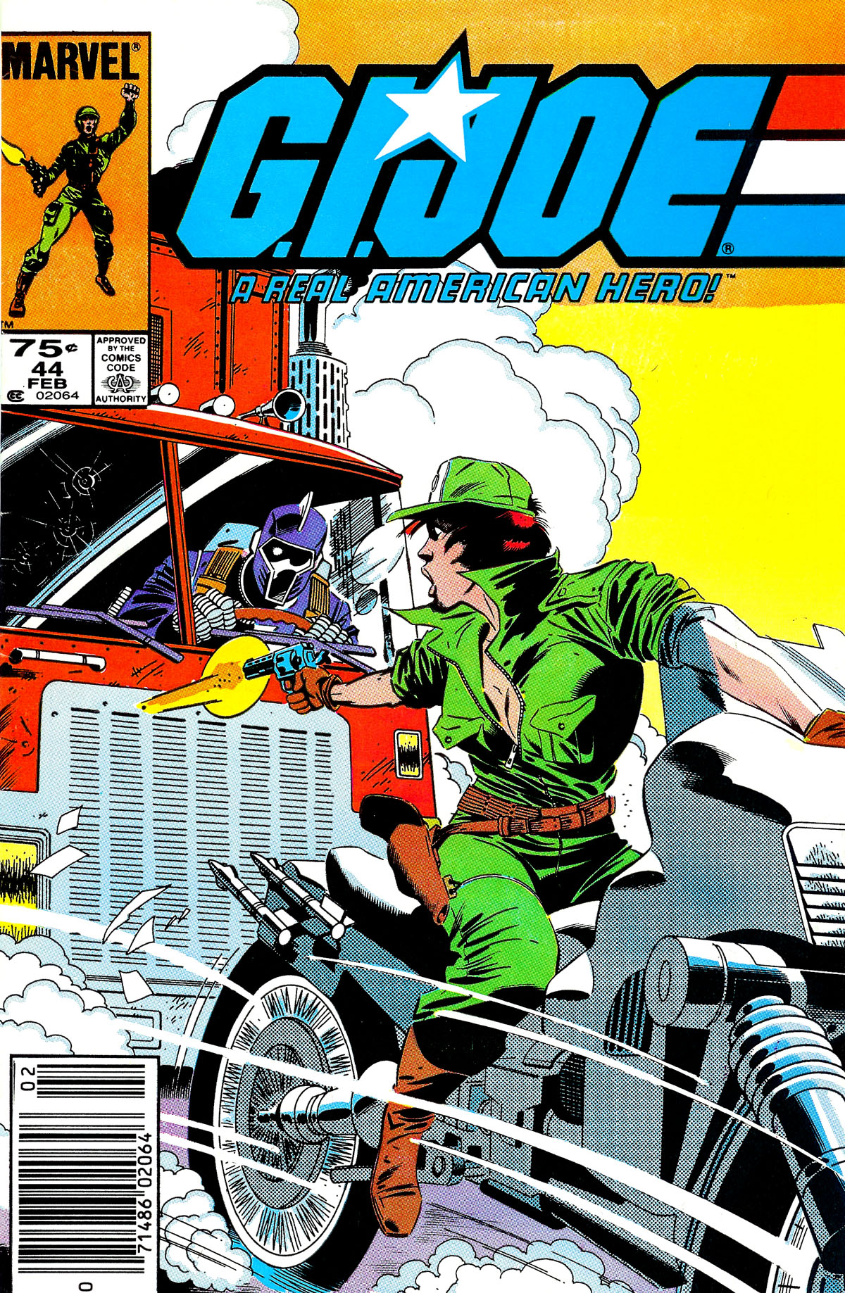 G.I. Joe: A Real American Hero 44 Page 1