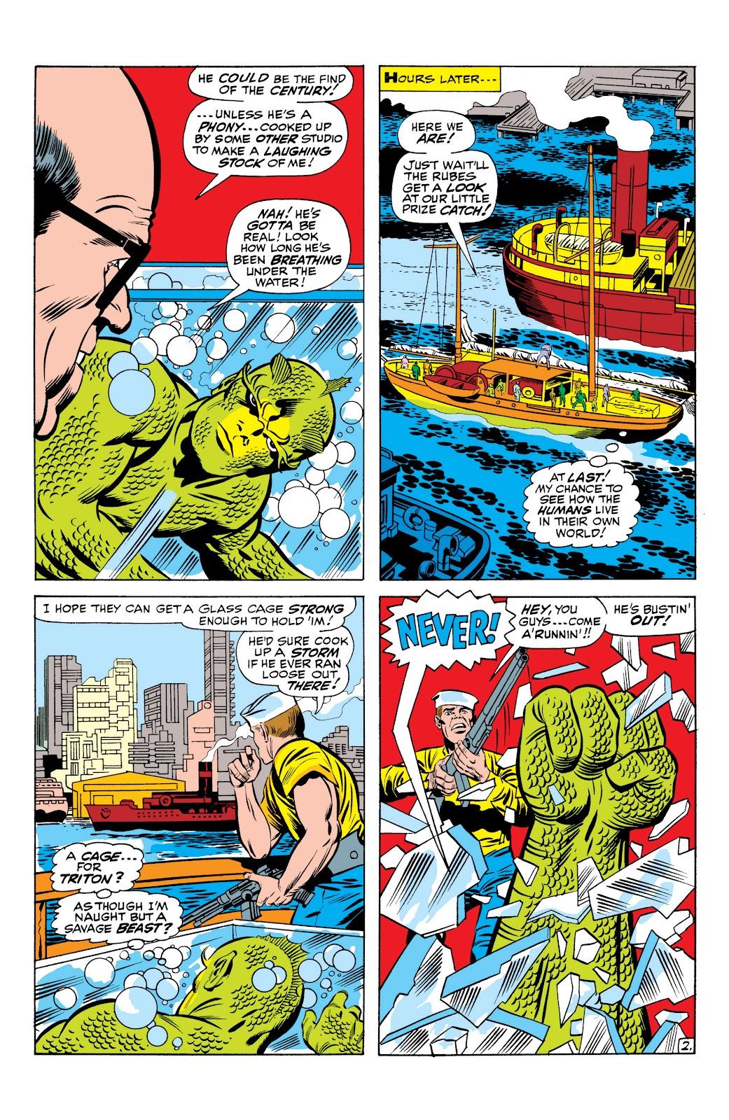 Read online Marvel Masterworks: The Inhumans comic -  Issue # TPB 1 (Part 1) - 34