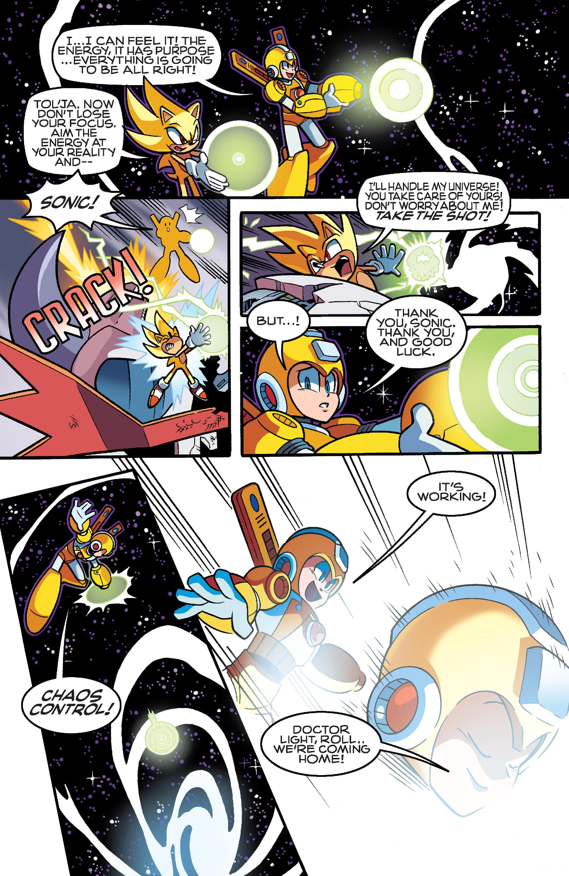 Read online Sonic Mega Man Worlds Collide comic -  Issue # Vol 3 - 114