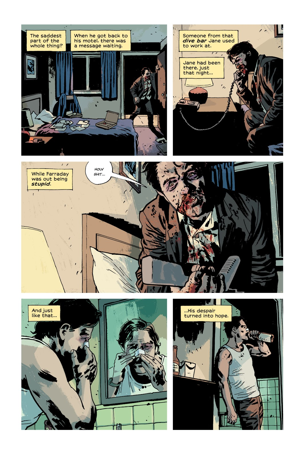 Read online Criminal (2019) comic -  Issue #10 - 13