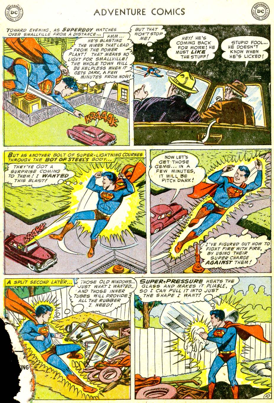 Read online Adventure Comics (1938) comic -  Issue #194 - 12