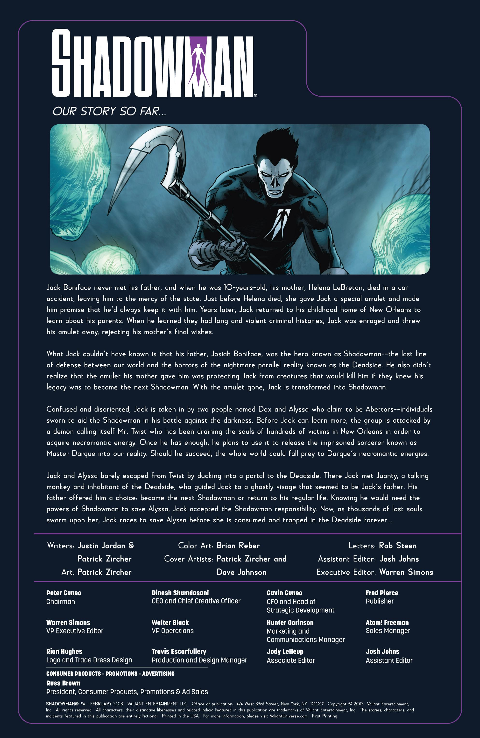 Read online Shadowman (2012) comic -  Issue #4 - 2