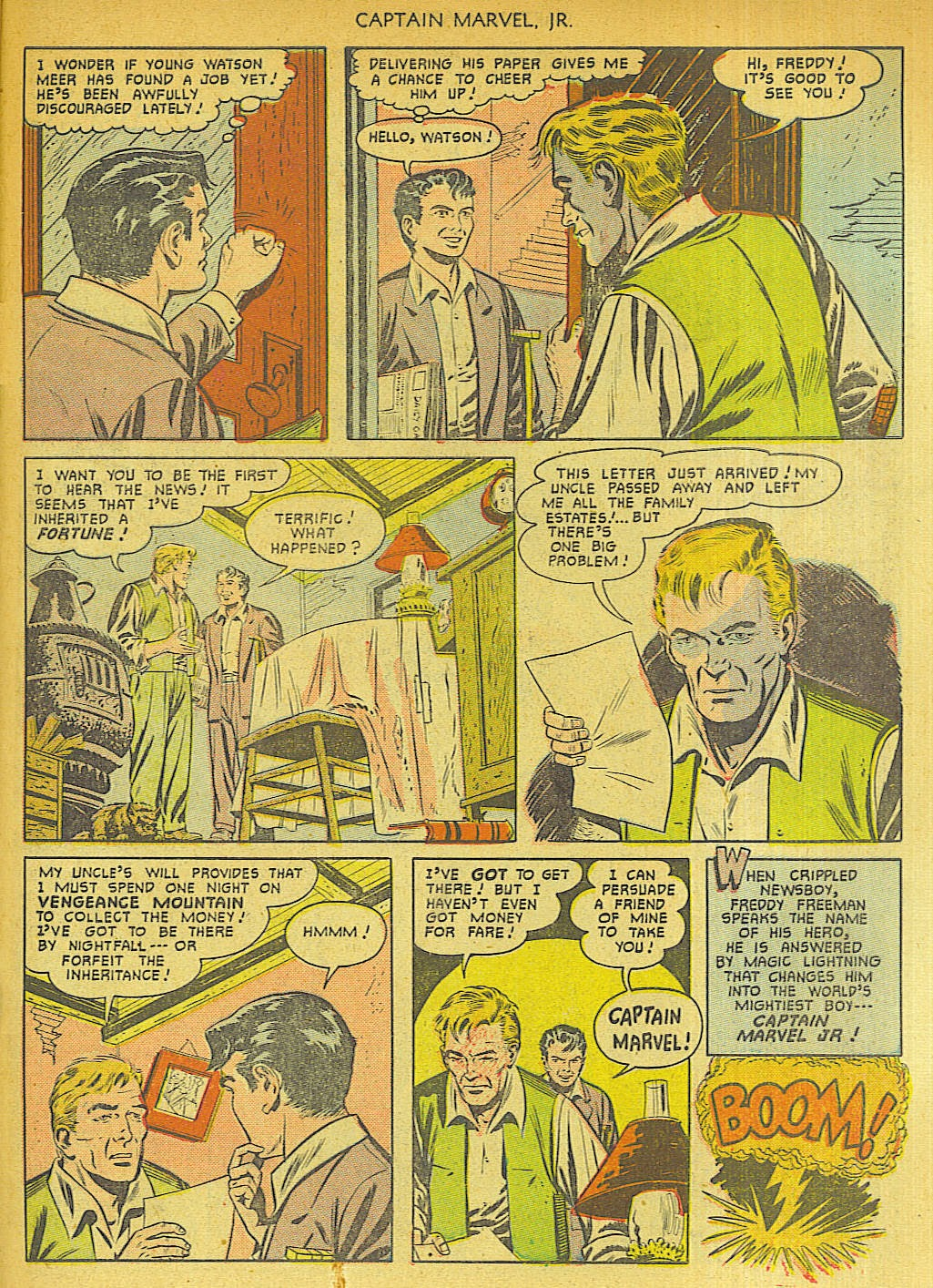 Captain Marvel, Jr. issue 96 - Page 43
