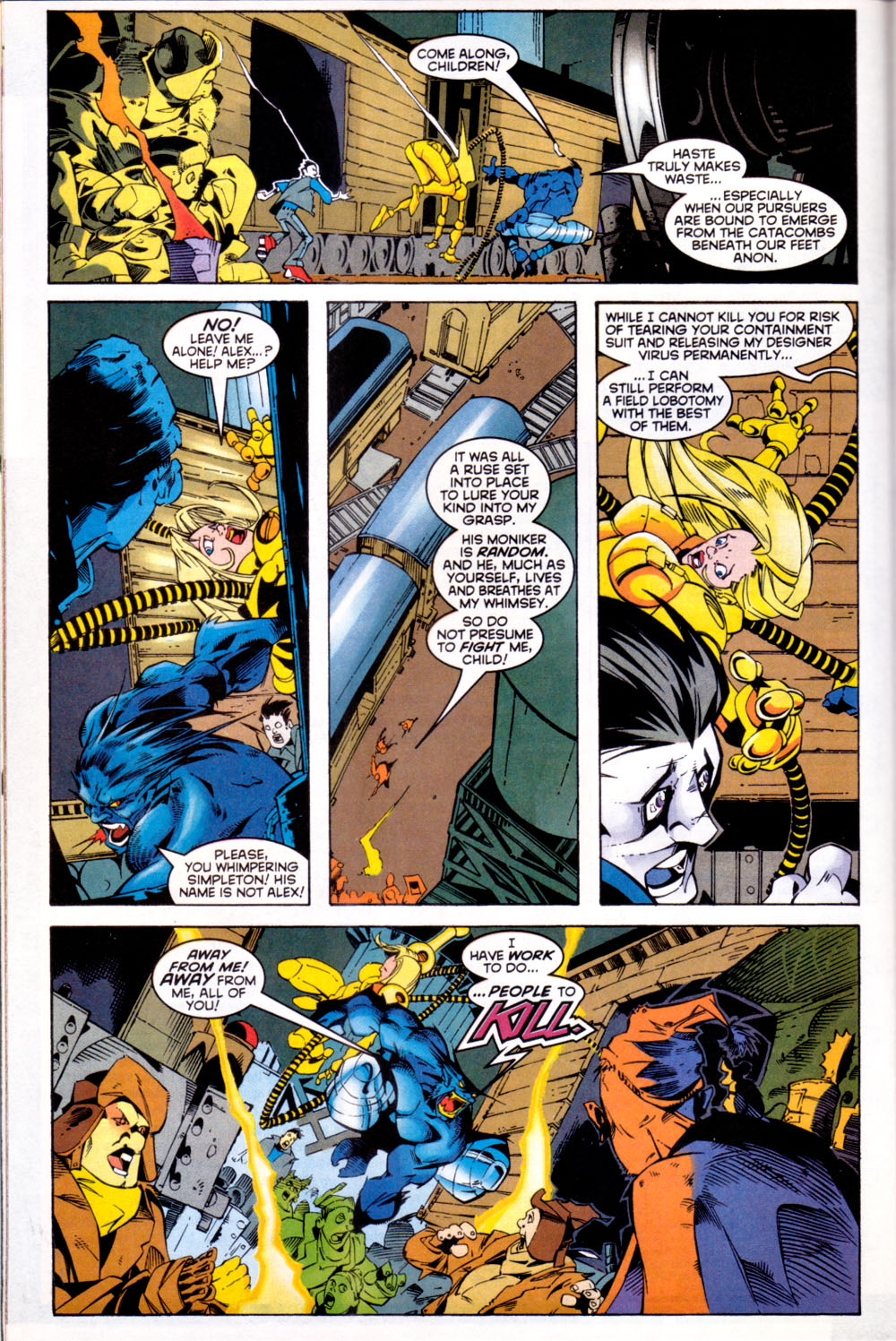 Read online X-Factor (1986) comic -  Issue #144 - 17