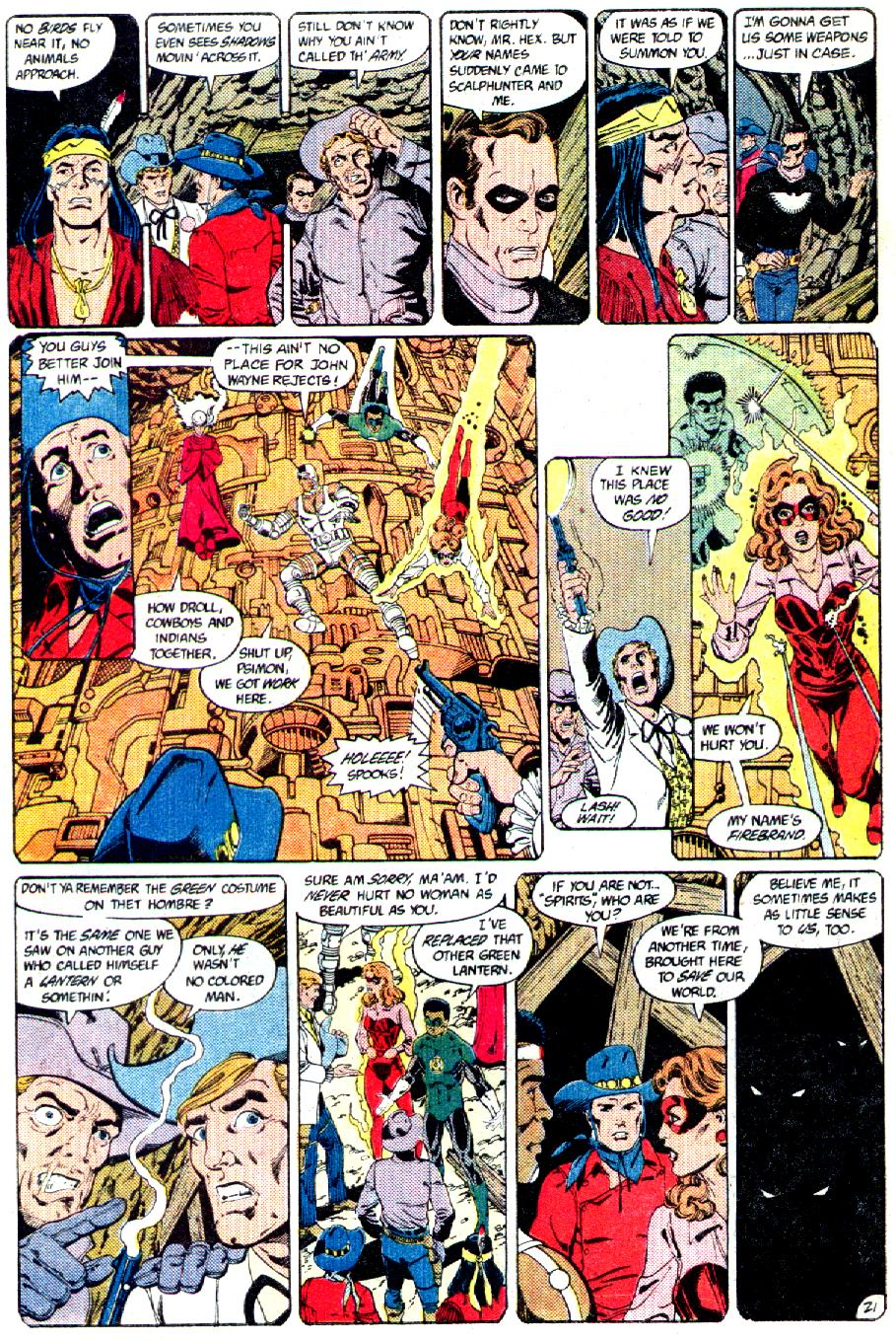 Read online Crisis on Infinite Earths (1985) comic -  Issue #3 - 22