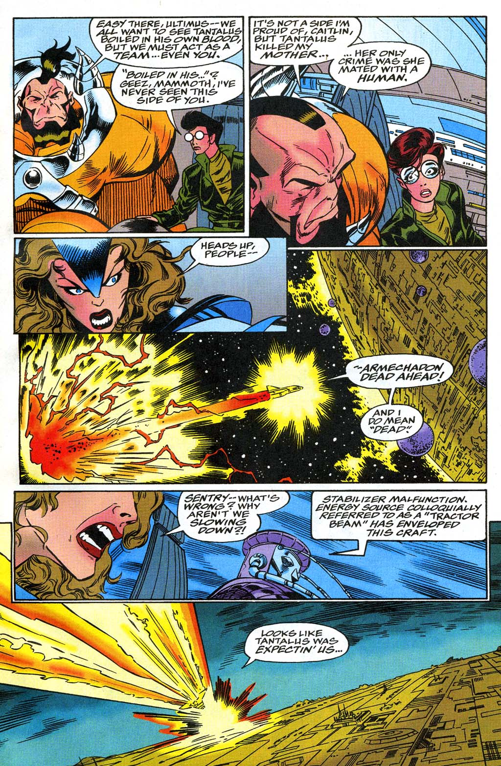 Read online Blackwulf comic -  Issue #8 - 9
