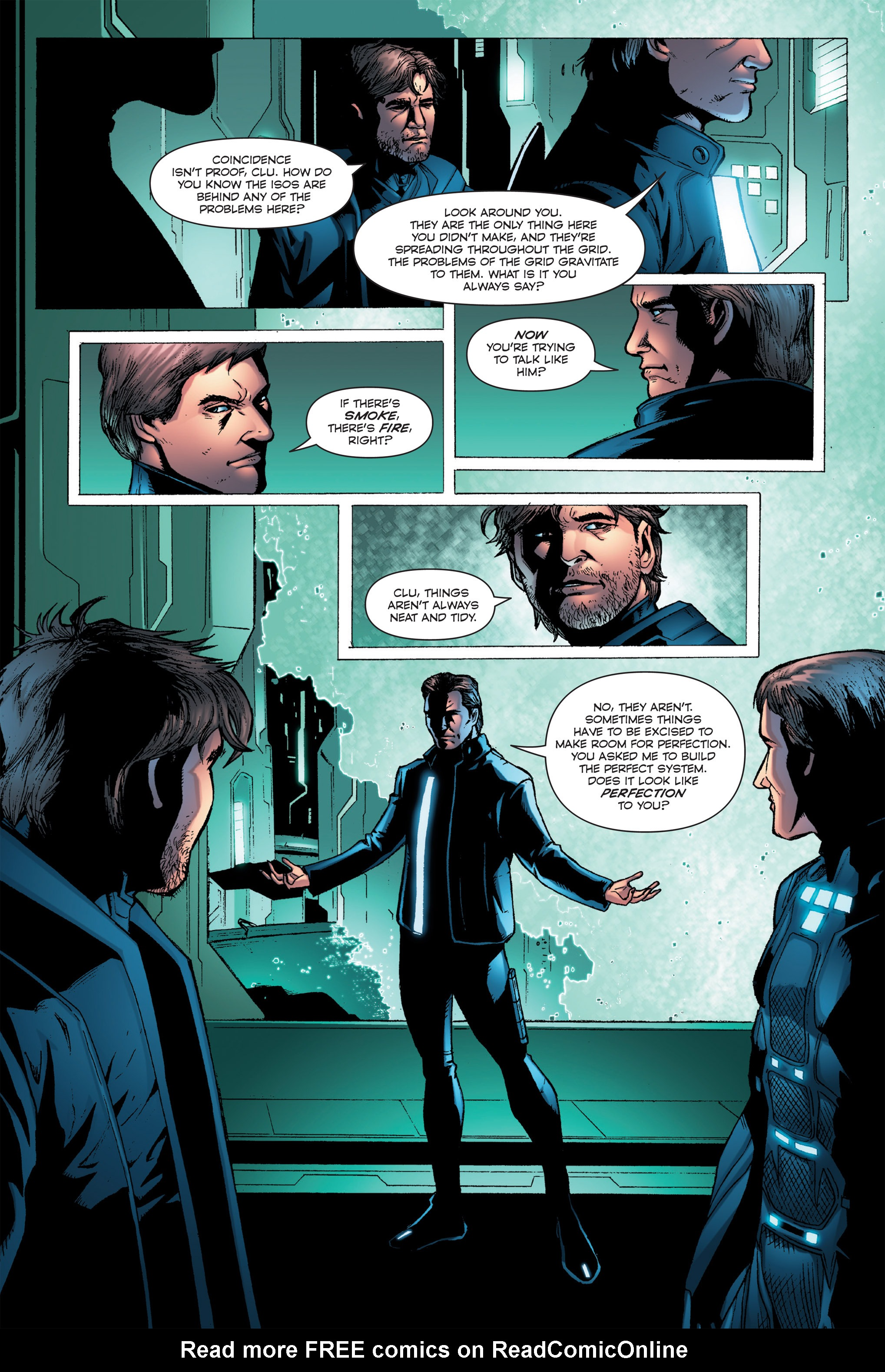 Read online TRON: Betrayal comic -  Issue # TPB - 70